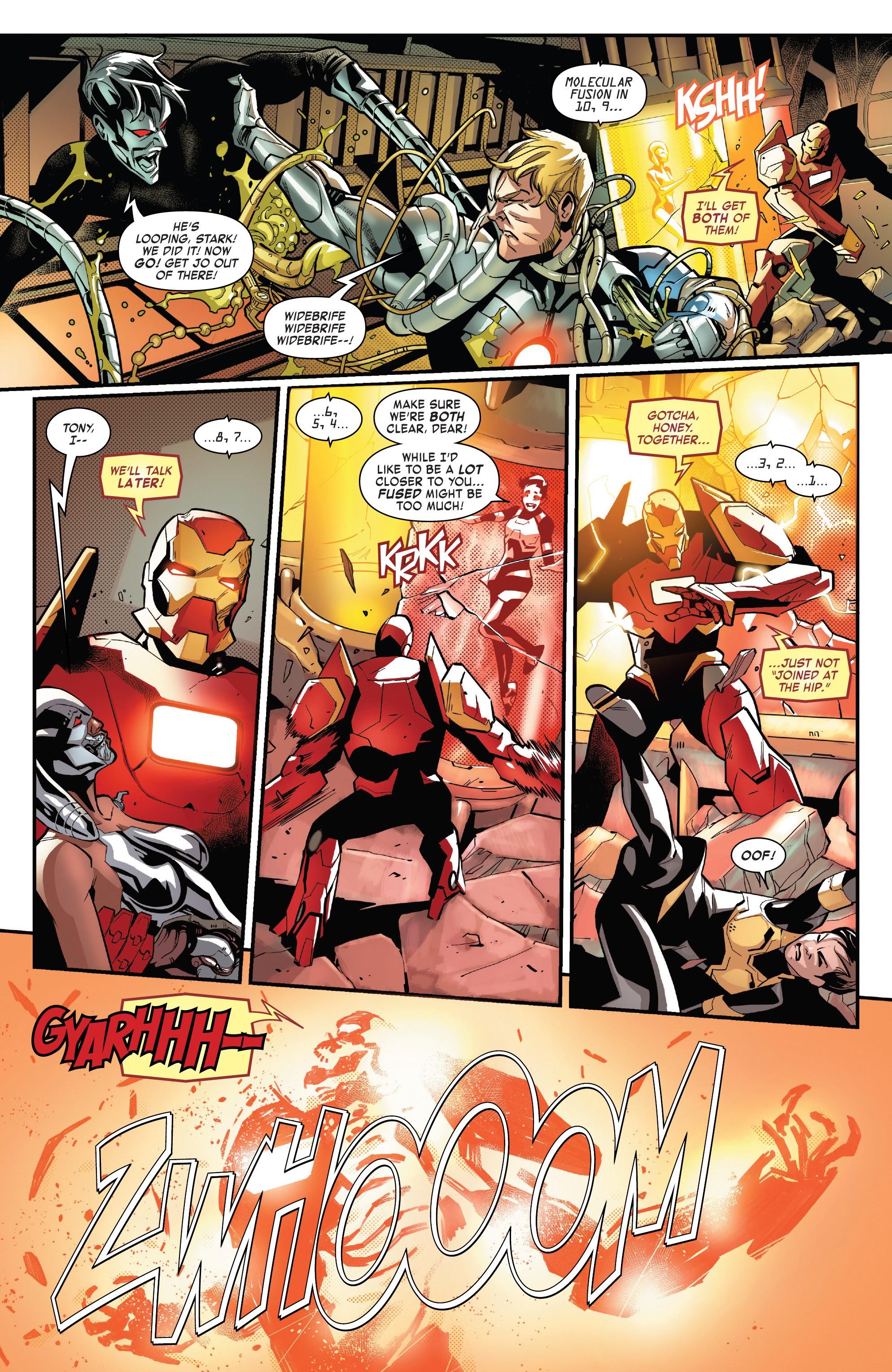 Read online Tony Stark: Iron Man comic -  Issue #16 - 21