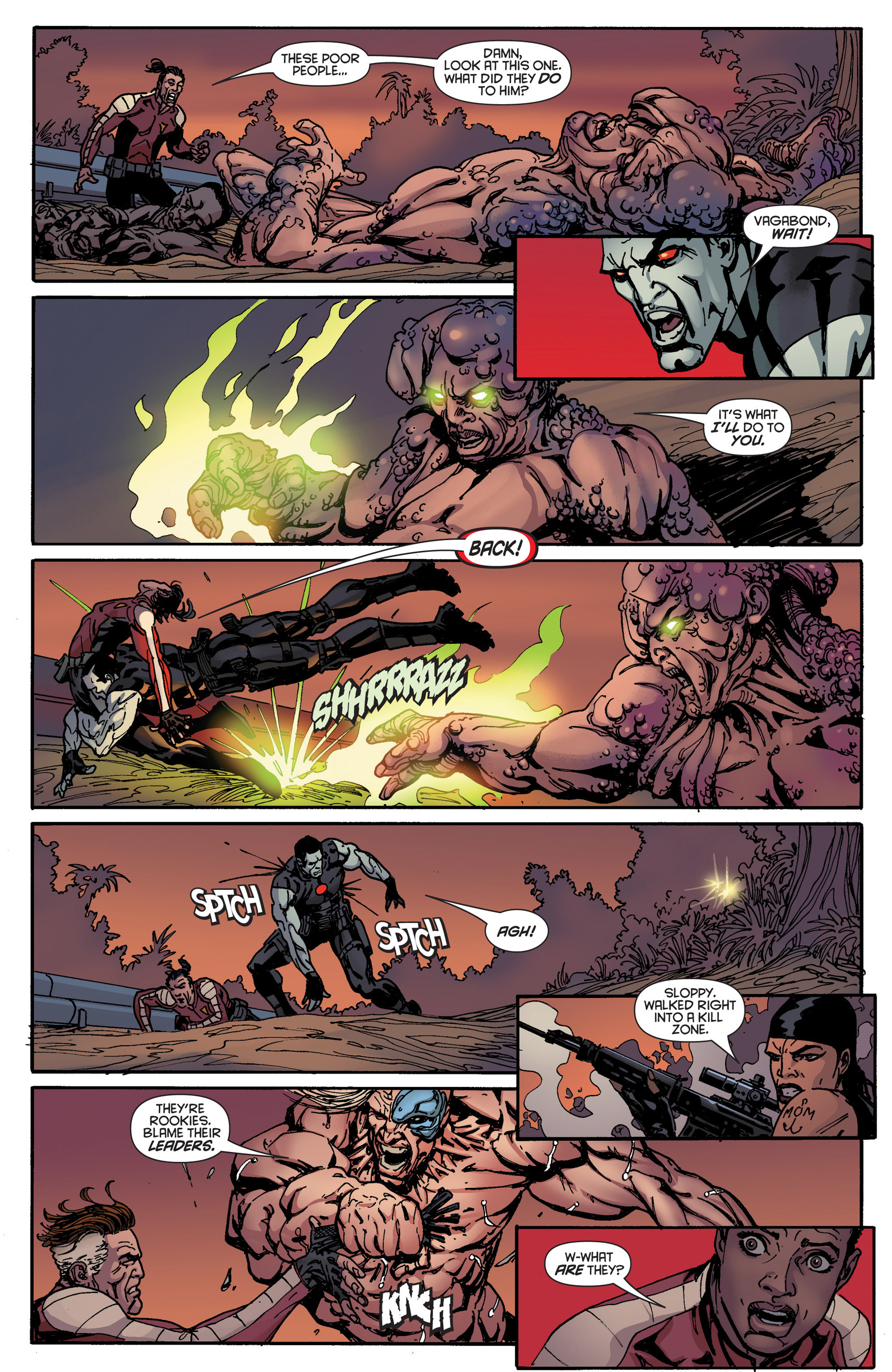 Read online Bloodshot and H.A.R.D.Corps comic -  Issue #18 - 10