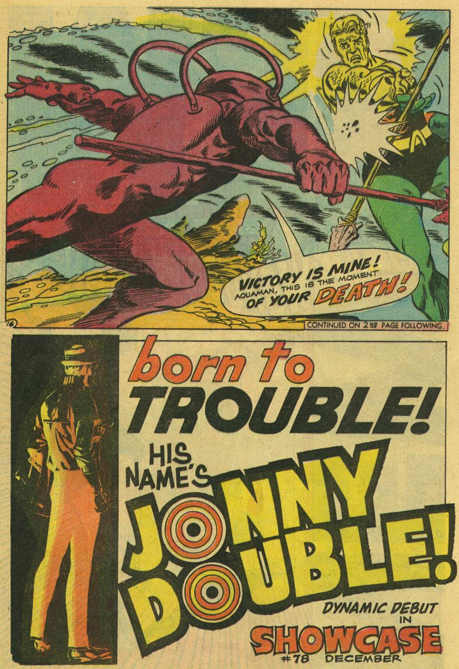 Read online Aquaman (1962) comic -  Issue #42 - 21