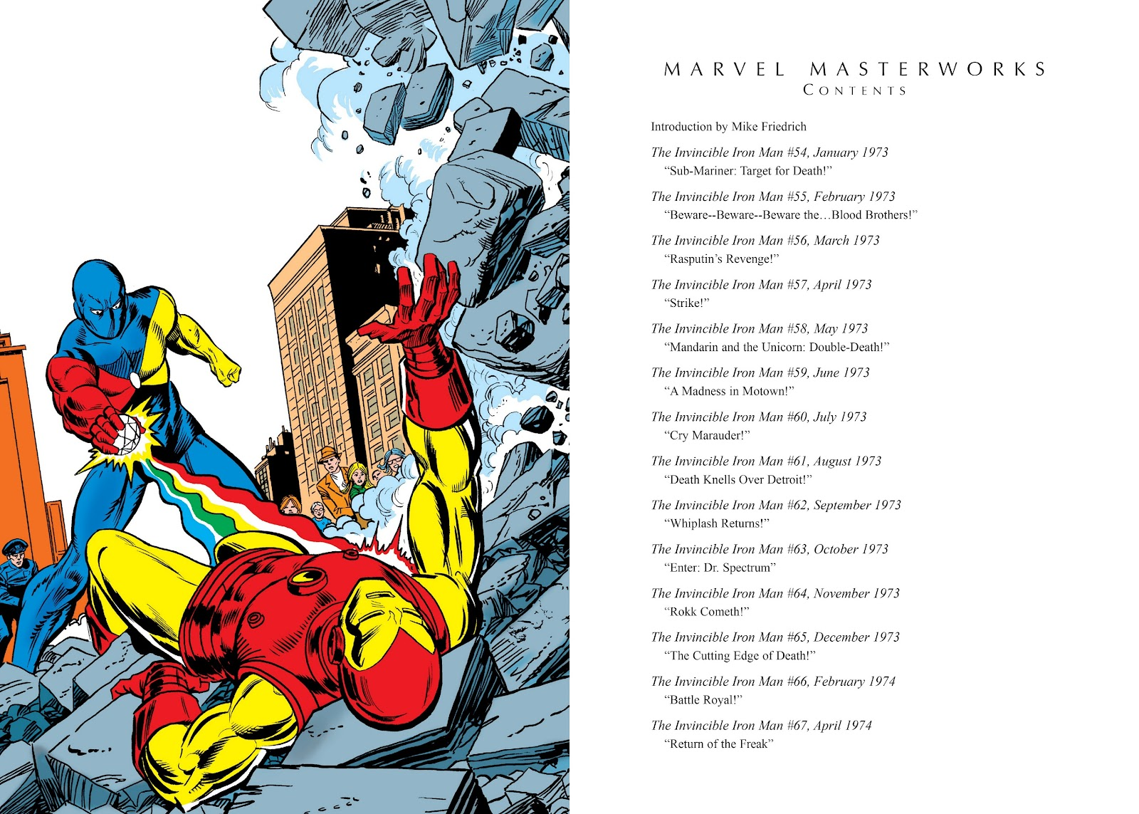 Read online Marvel Masterworks: The Invincible Iron Man comic -  Issue # TPB 9 (Part 1) - 4