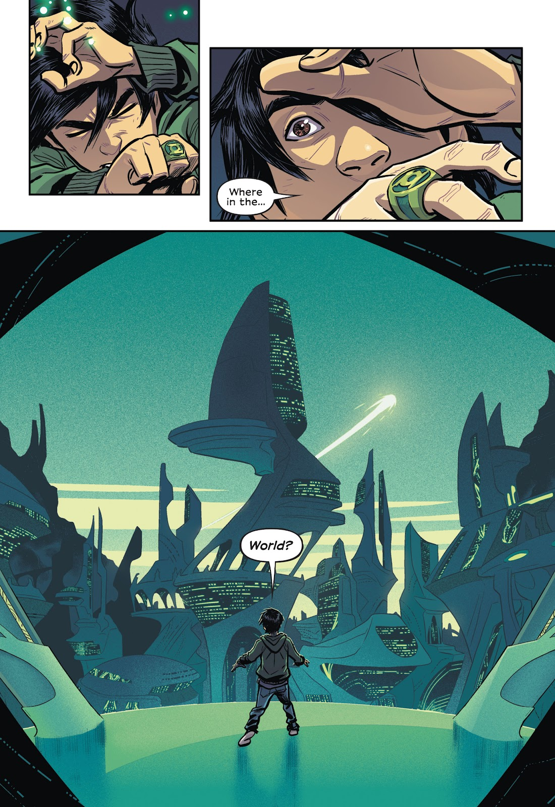 Read online Green Lantern: Legacy comic -  Issue # TPB - 34