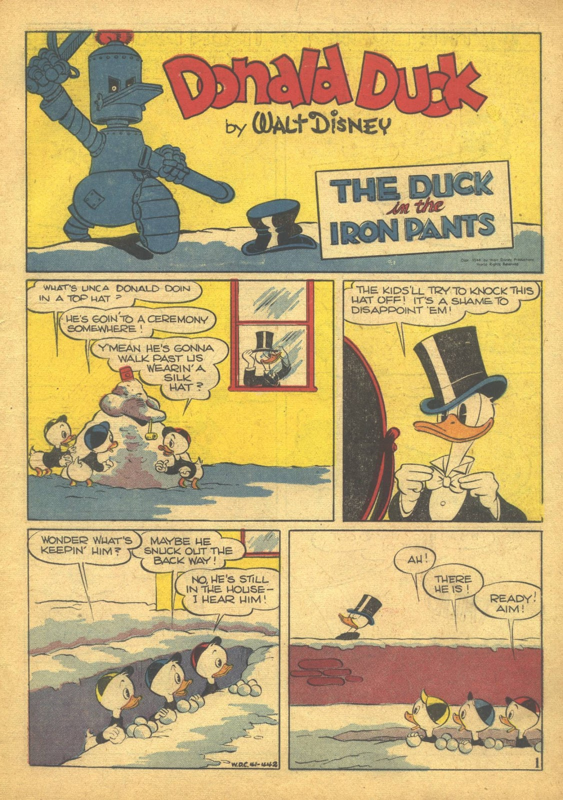 Walt Disney's Comics and Stories issue 41 - Page 3