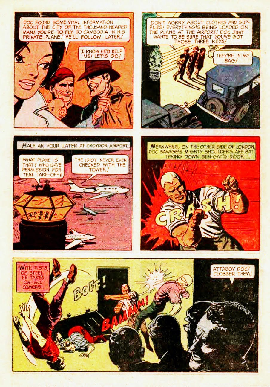 Read online Doc Savage (1966) comic -  Issue # Full - 19