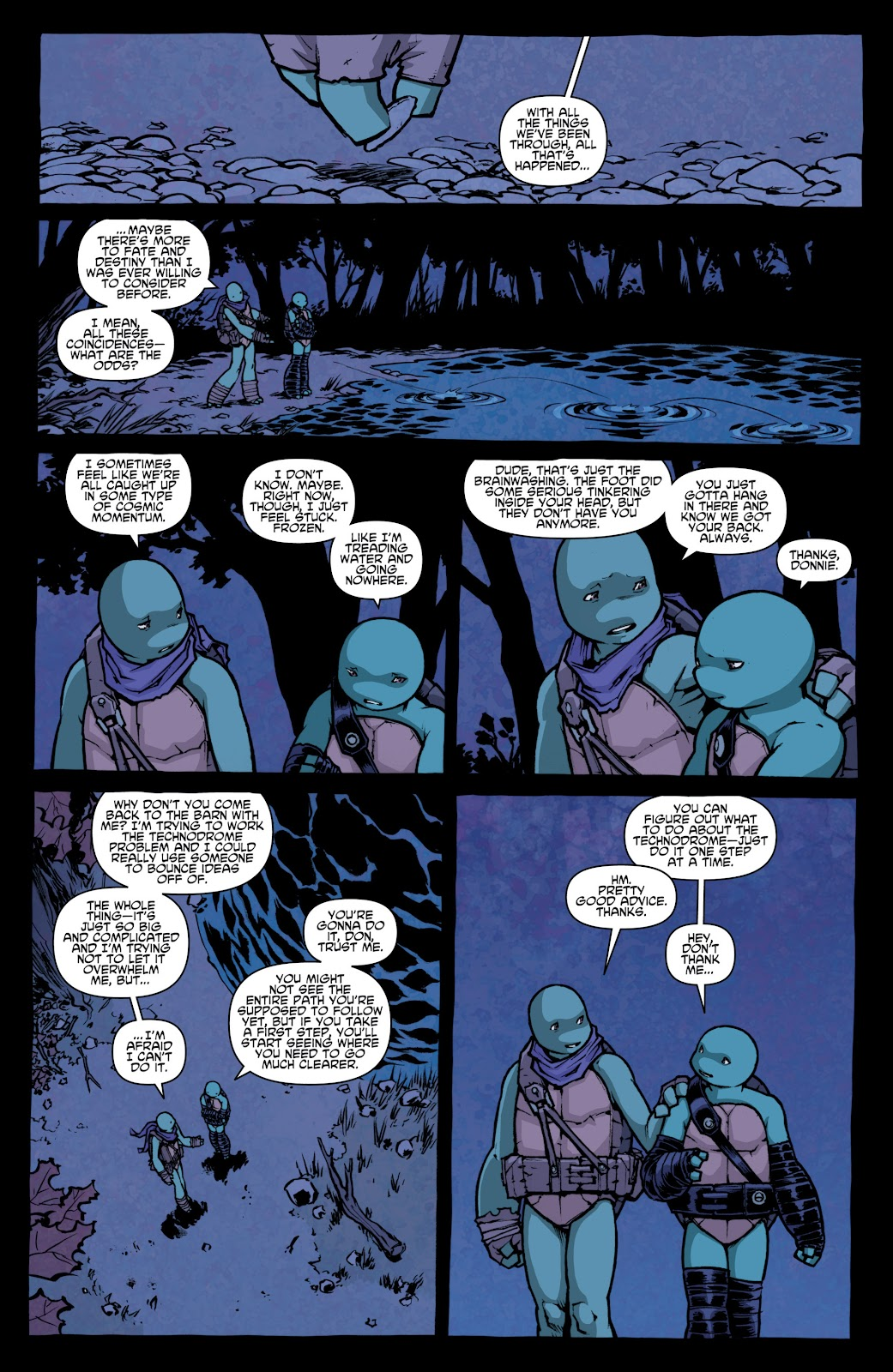 Read online Teenage Mutant Ninja Turtles: The IDW Collection comic -  Issue # TPB 4 (Part 1) - 68