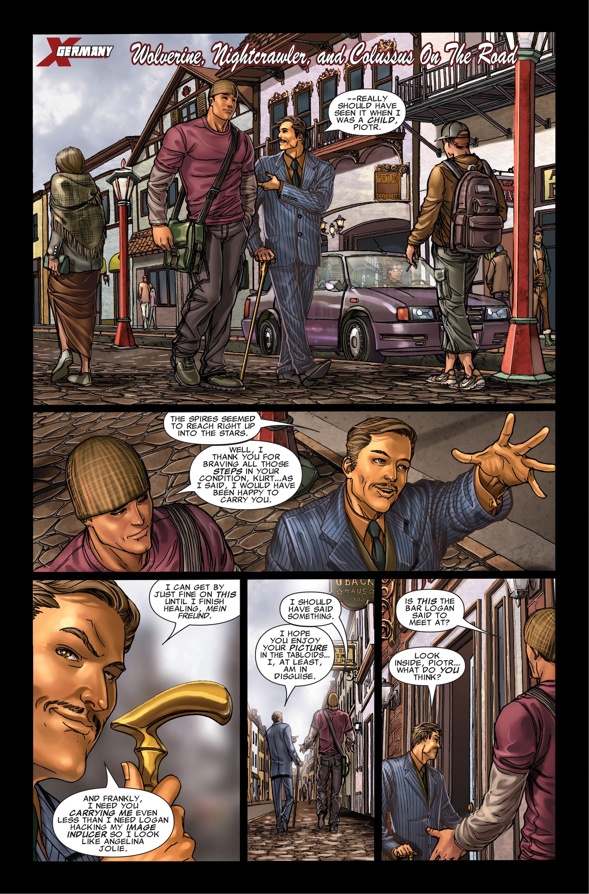 Read online Uncanny X-Men (1963) comic -  Issue #495 - 14