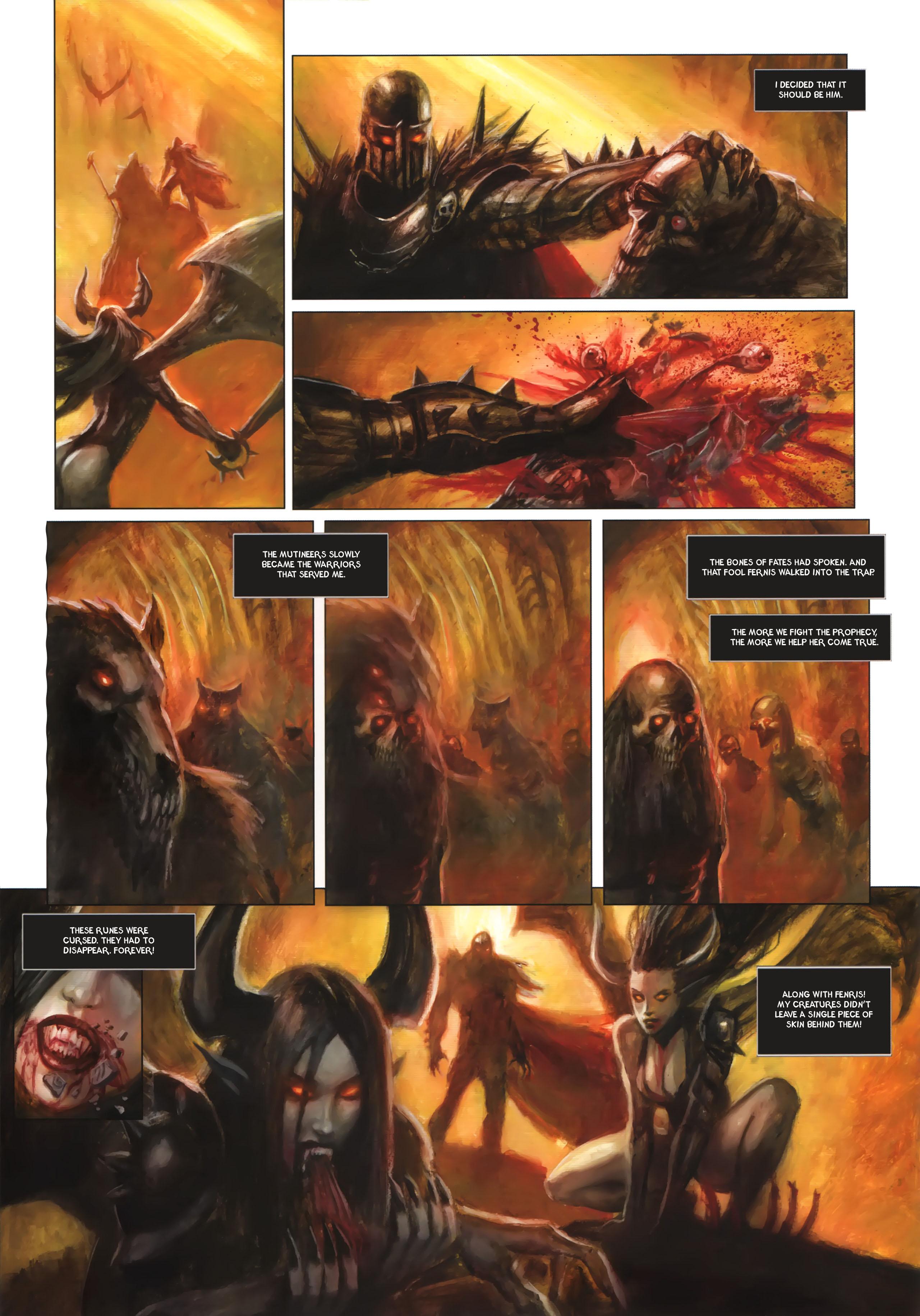 Read online Arawn comic -  Issue #6 - 45