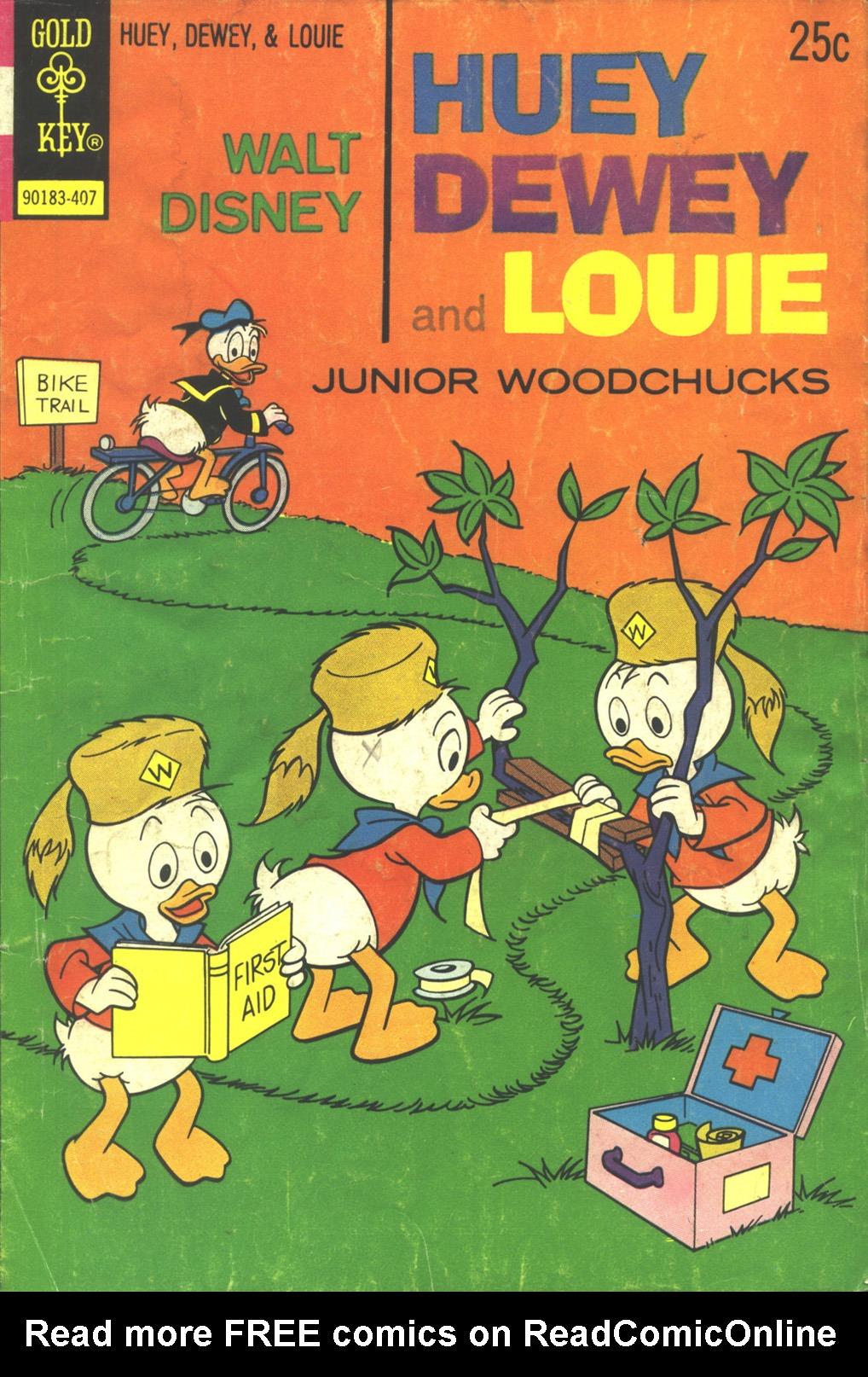 Huey, Dewey, and Louie Junior Woodchucks 27 Page 1