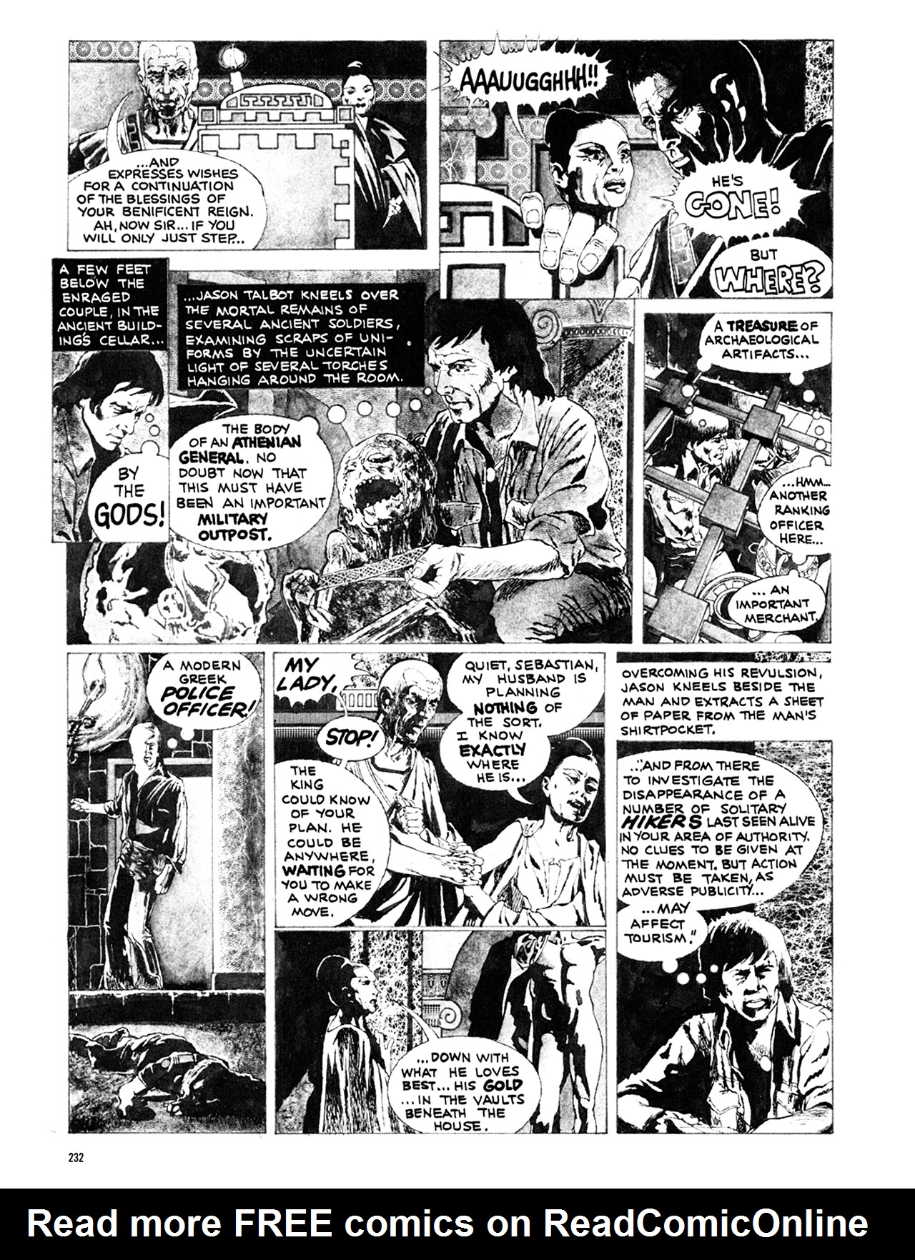 Read online Eerie Archives comic -  Issue # TPB 10 - 233