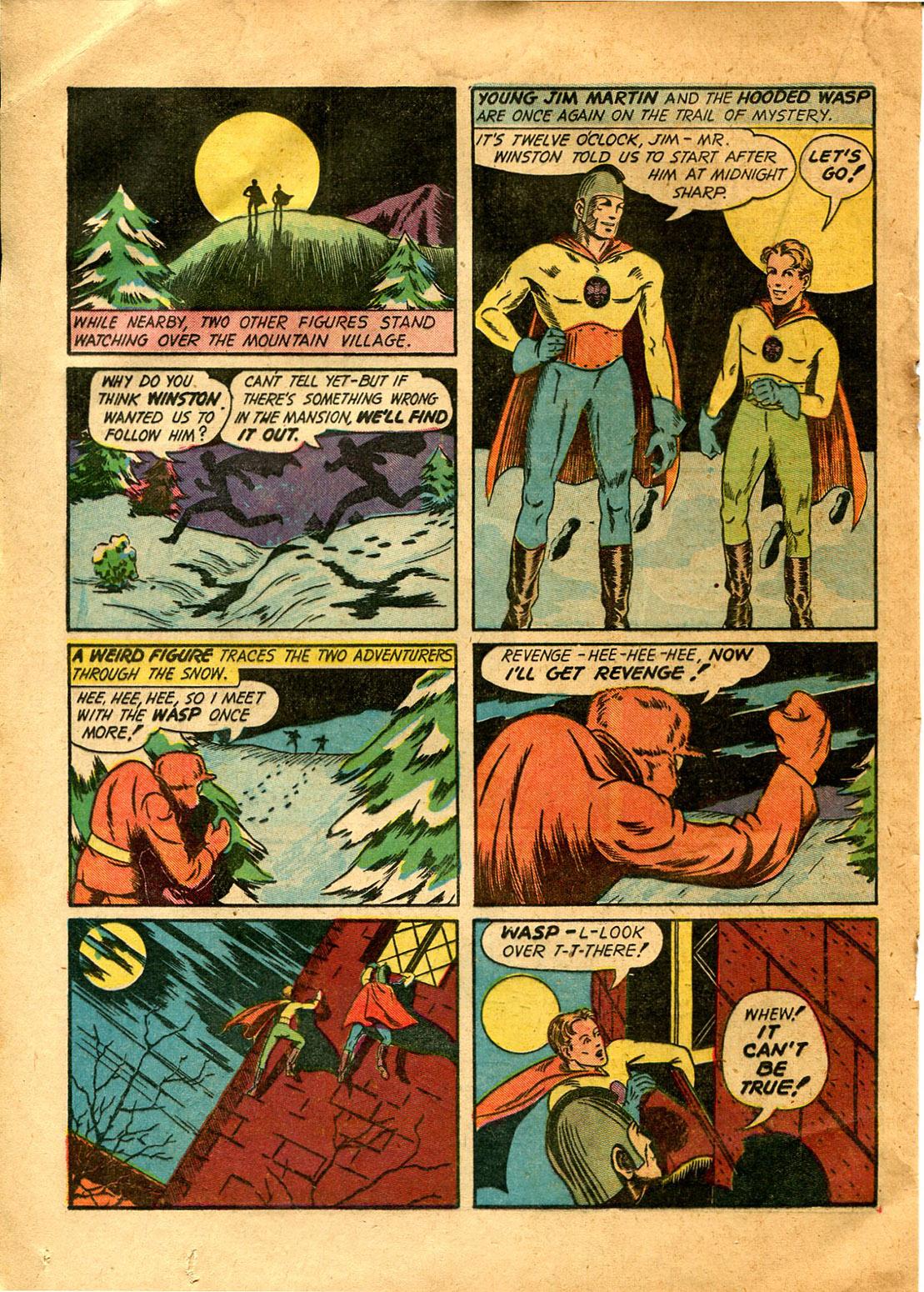 Read online Shadow Comics comic -  Issue #9 - 38