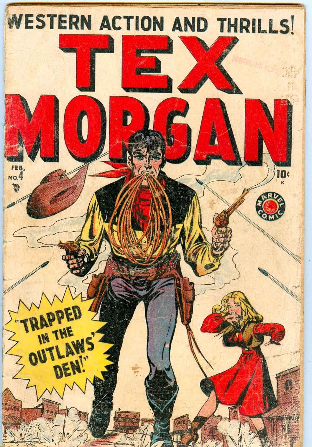 Tex Morgan issue 4 - Page 1