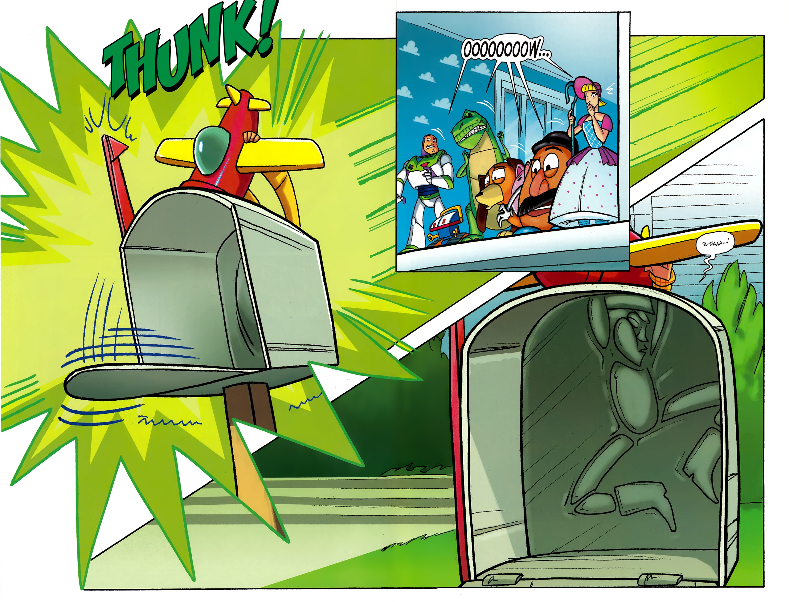 Read online Toy Story (2009) comic -  Issue #5 - 5