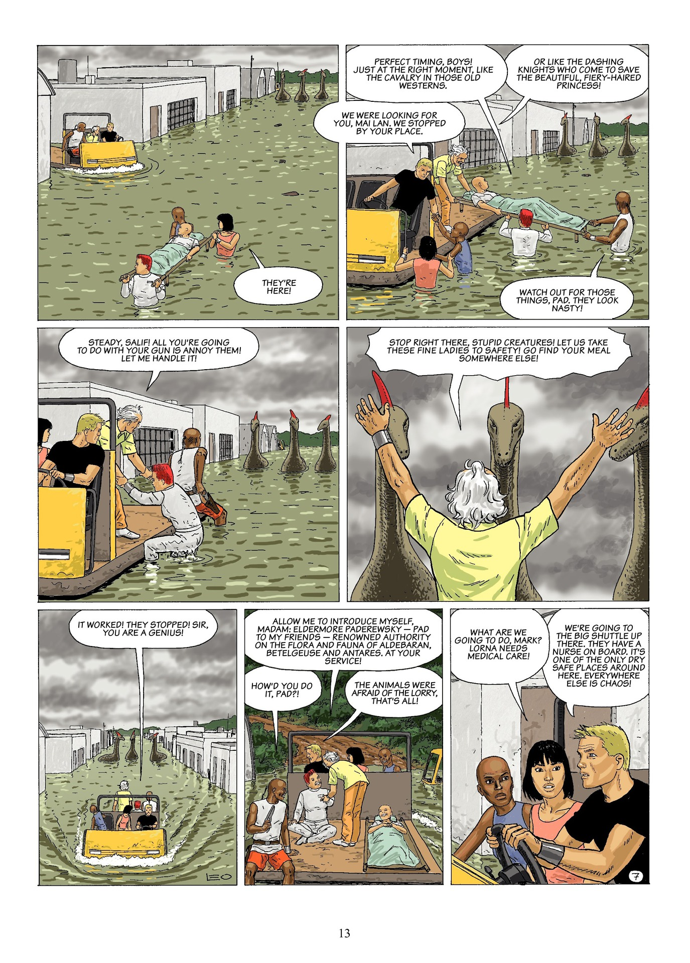 Read online Antares comic -  Issue #6 - 15