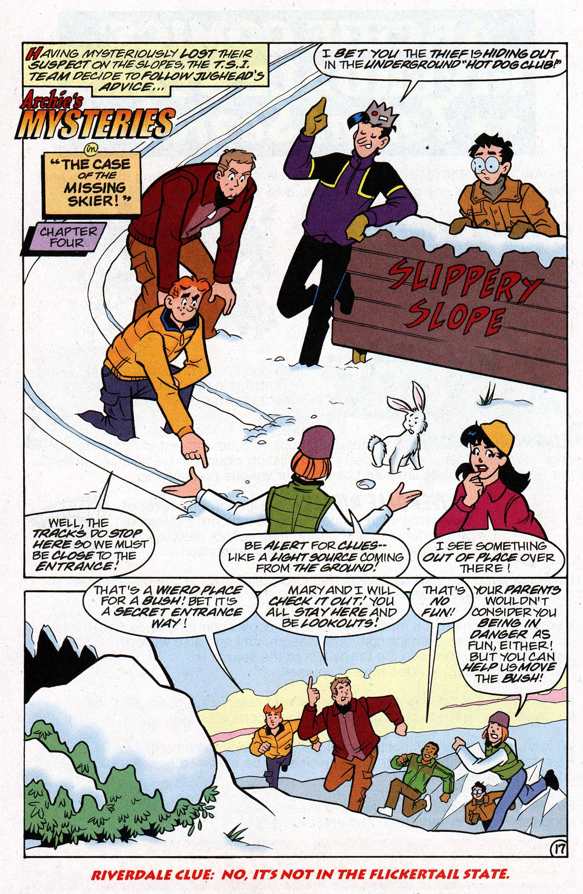 Read online Archie's Weird Mysteries comic -  Issue #26 - 23
