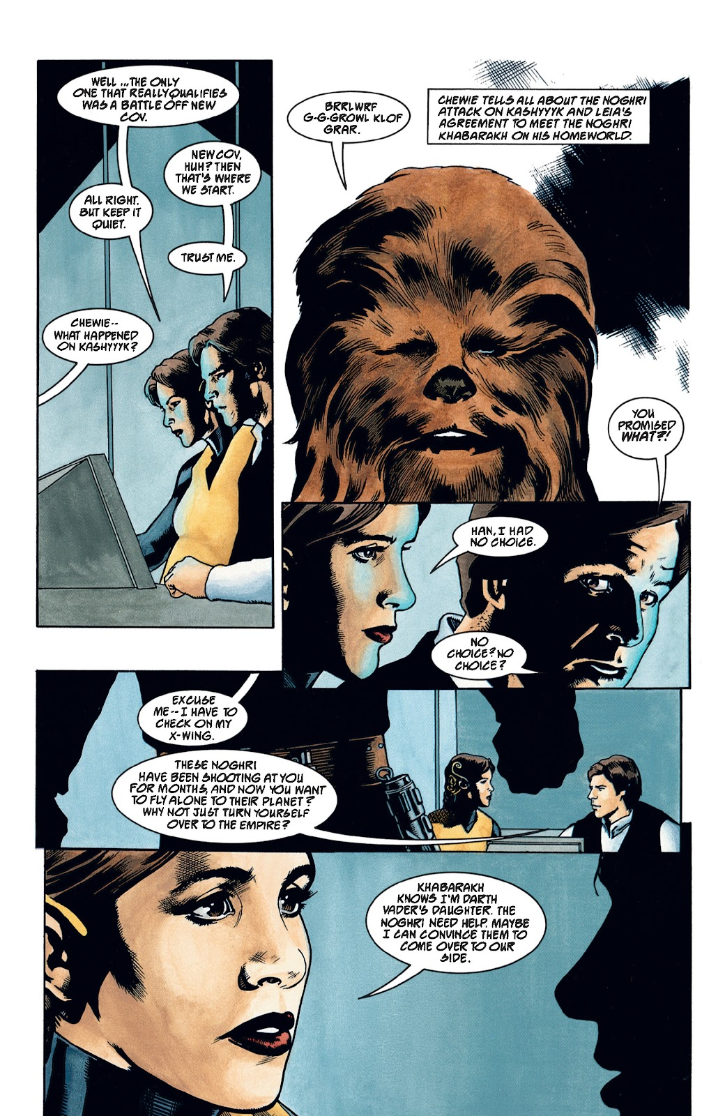 Read online Star Wars Legends: The New Republic - Epic Collection comic -  Issue # TPB 4 (Part 2) - 64