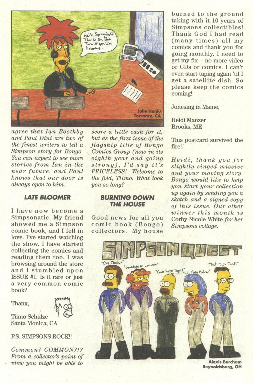 Read online Simpsons Comics comic -  Issue #56 - 28