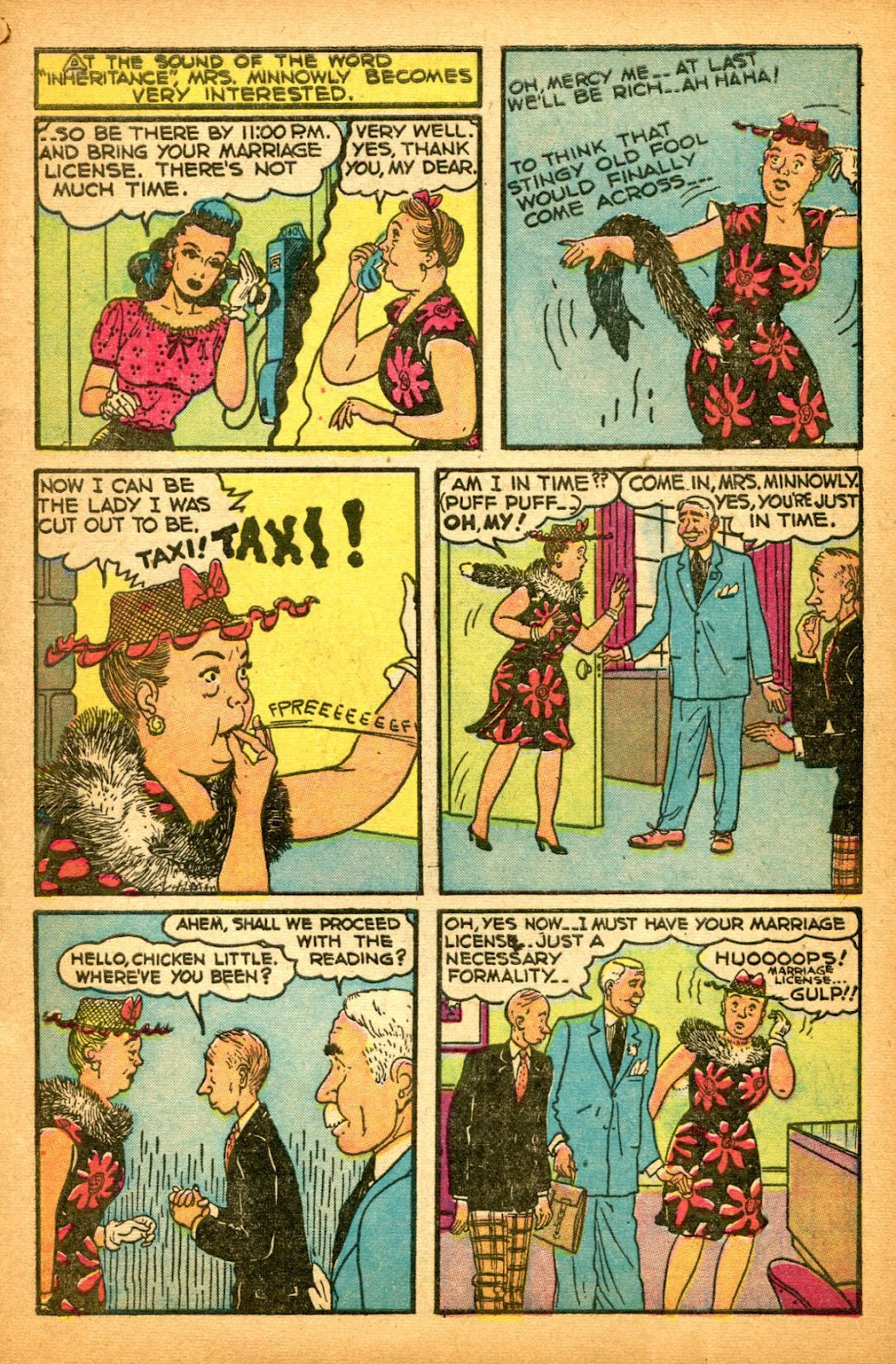 Read online Famous Funnies comic -  Issue #151 - 11