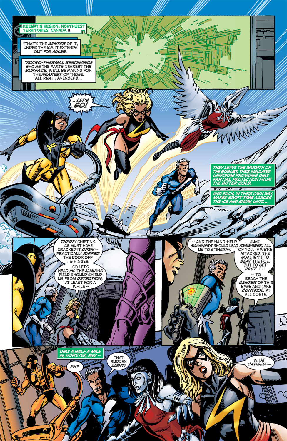Read online Avengers (1998) comic -  Issue #46 - 17