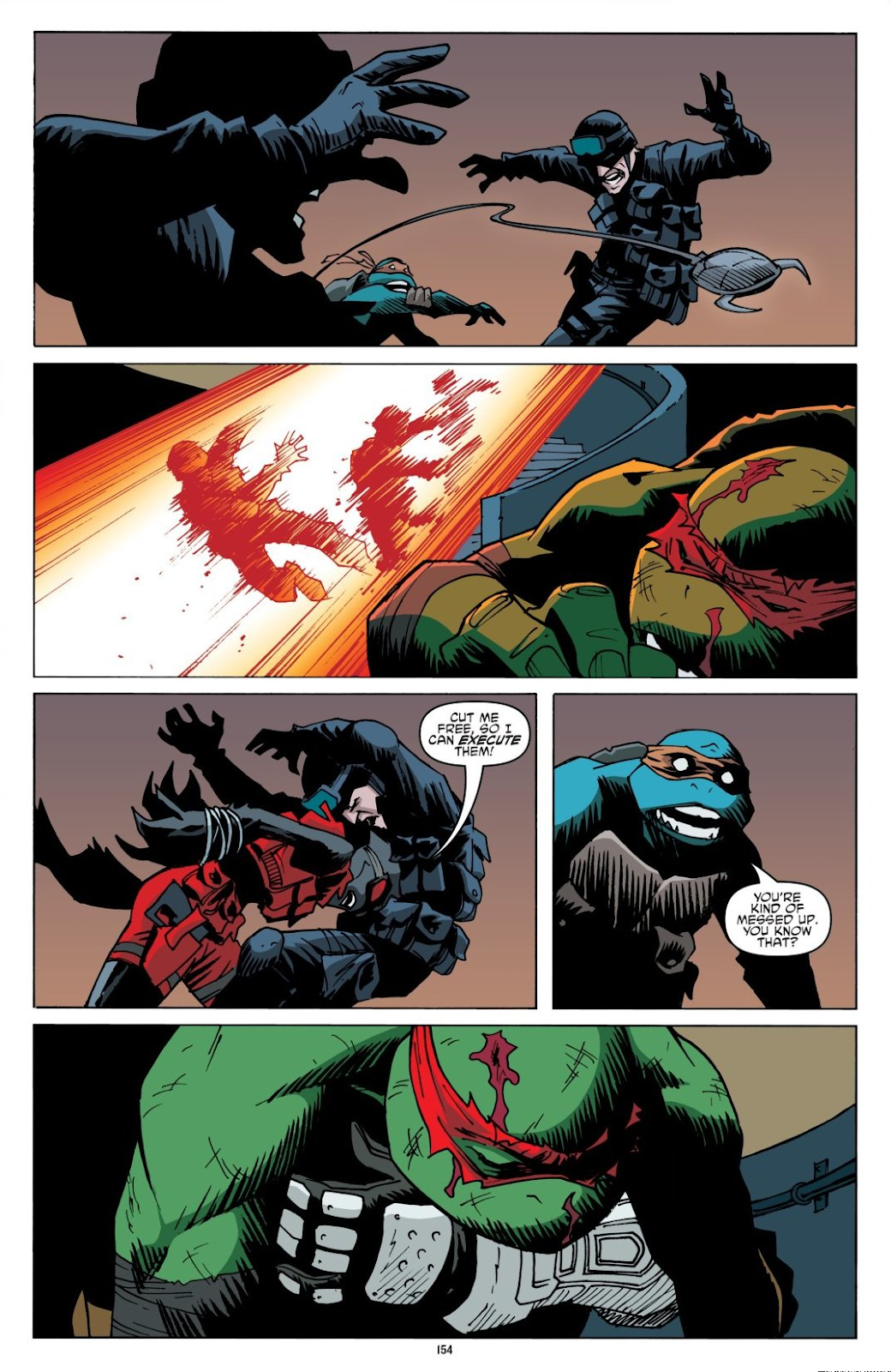 Read online Teenage Mutant Ninja Turtles: The IDW Collection comic -  Issue # TPB 8 (Part 2) - 53