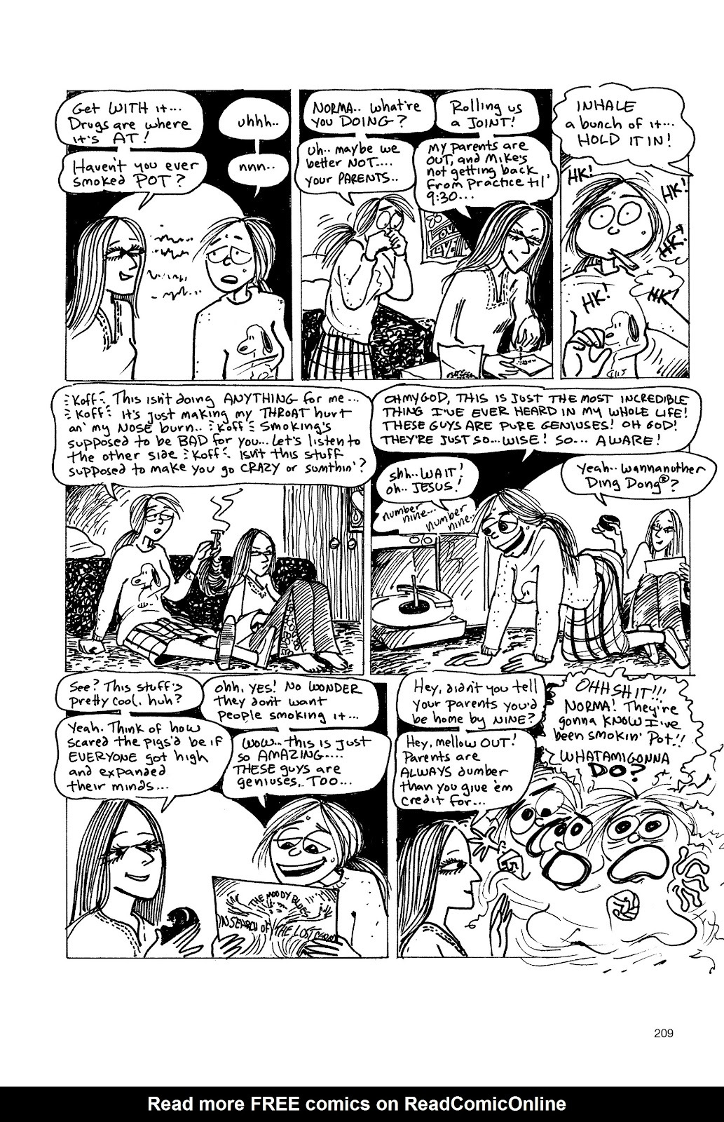 Read online Life's a Bitch: The Complete Bitchy Bitch Stories comic -  Issue # TPB (Part 3) - 4