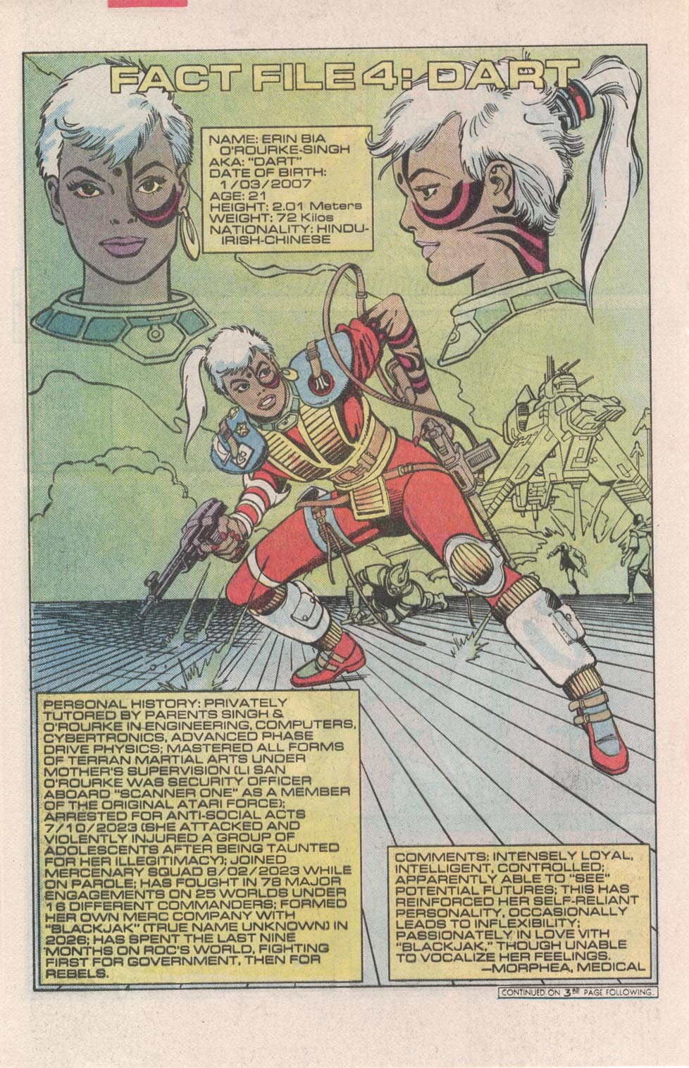 Read online Atari Force (1984) comic -  Issue #3 - 22