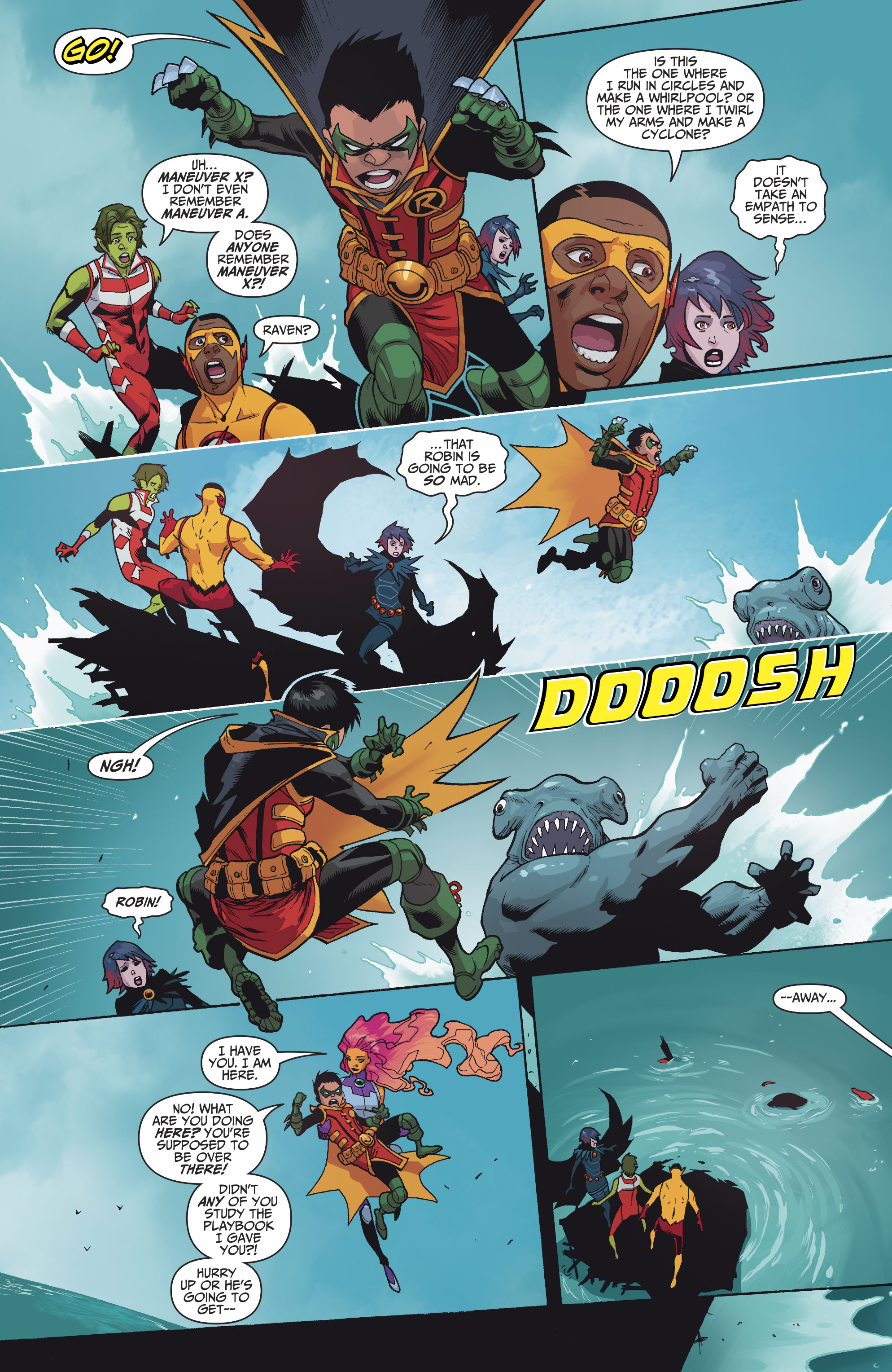 Read online Teen Titans (2016) comic -  Issue #7 - 6