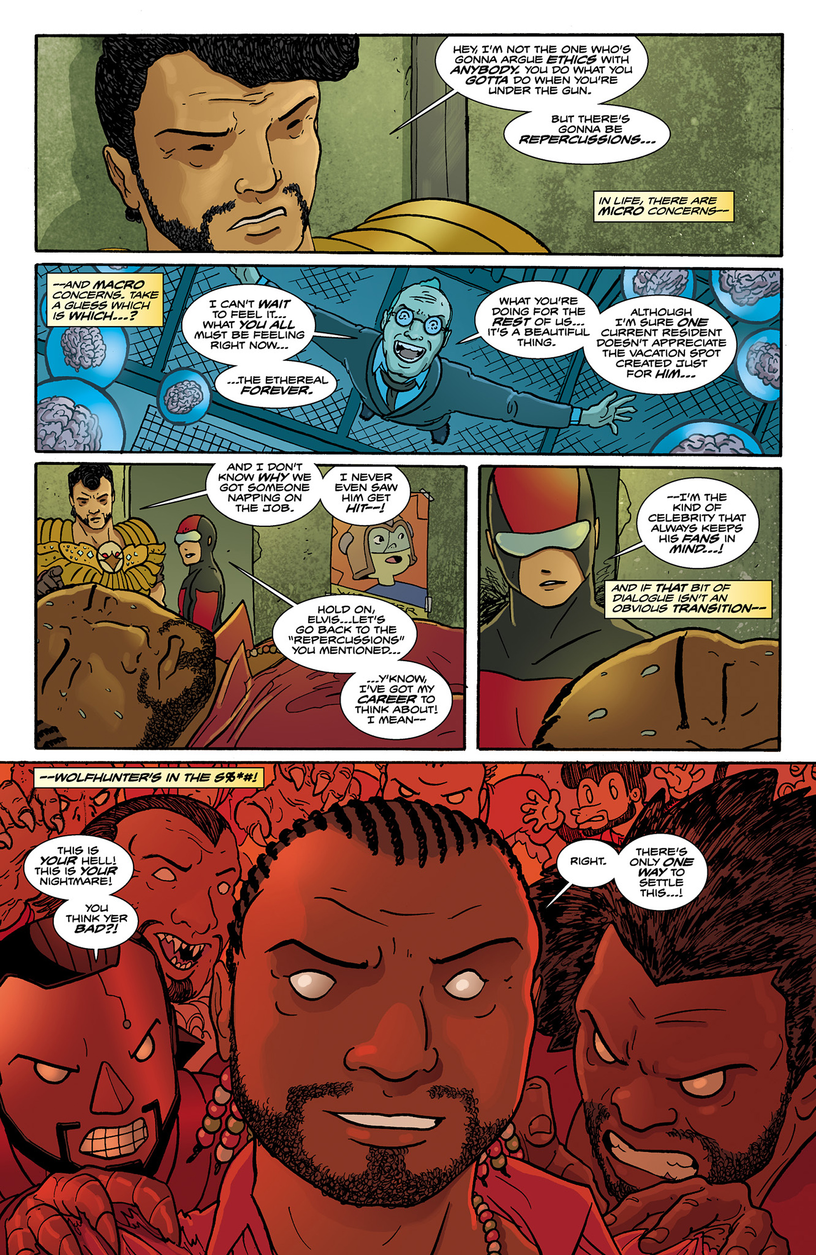 Read online Catalyst Comix comic -  Issue #6 - 20