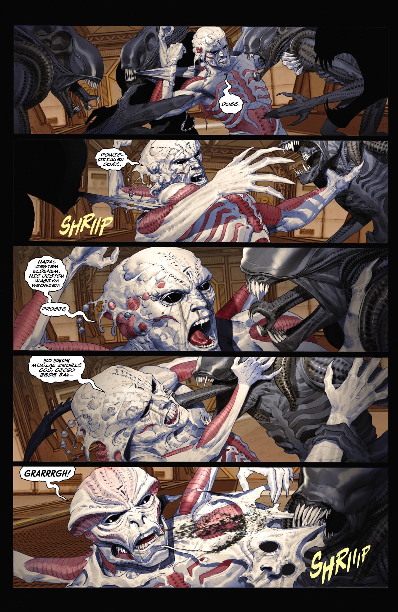 Read online Alien vs. Predator: Fire and Stone comic -  Issue #3 - 3