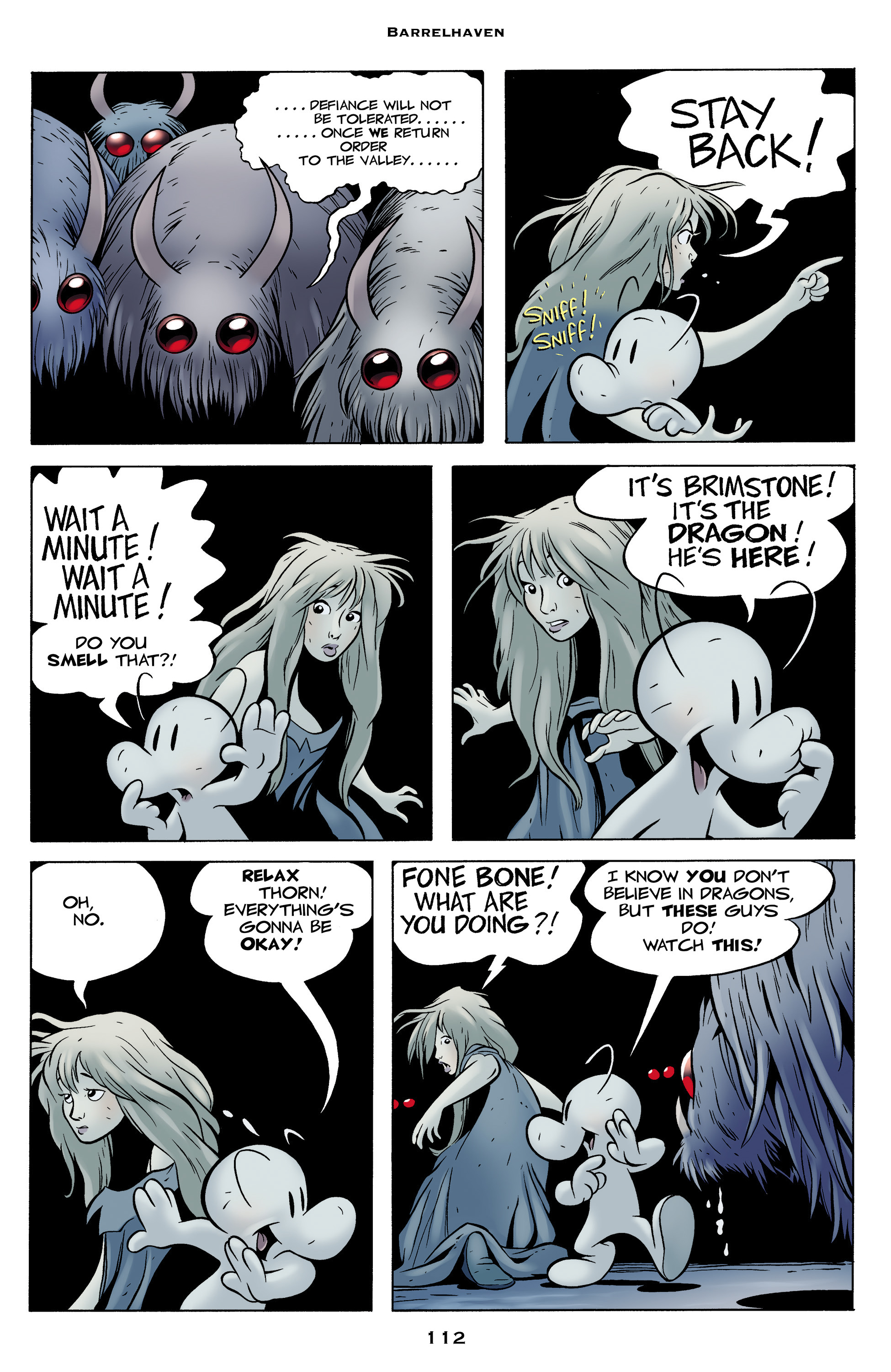 Read online Bone: Out From Boneville comic -  Issue # TPB - 112