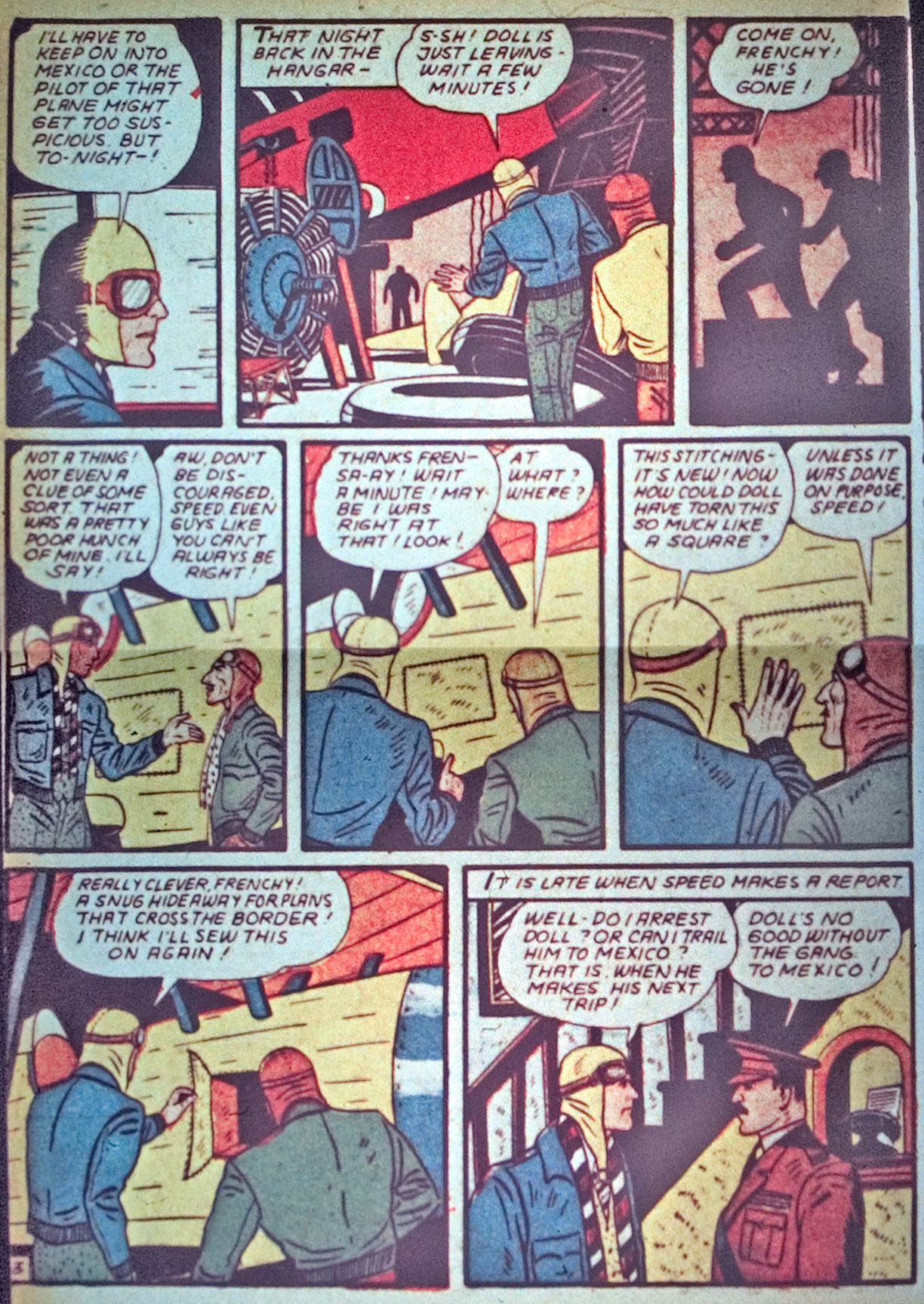 Read online Detective Comics (1937) comic -  Issue #34 - 38