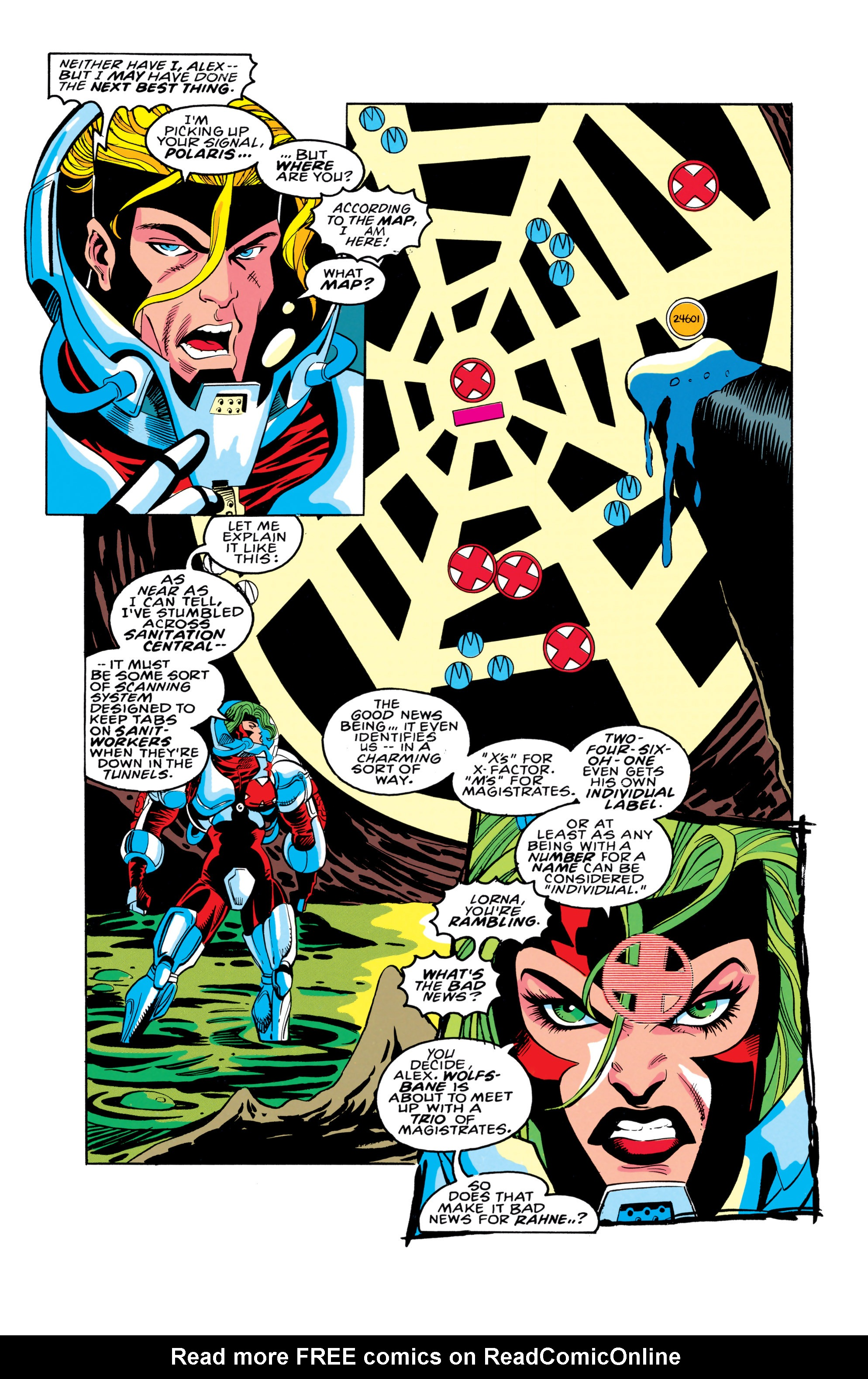 Read online X-Factor (1986) comic -  Issue #91 - 5