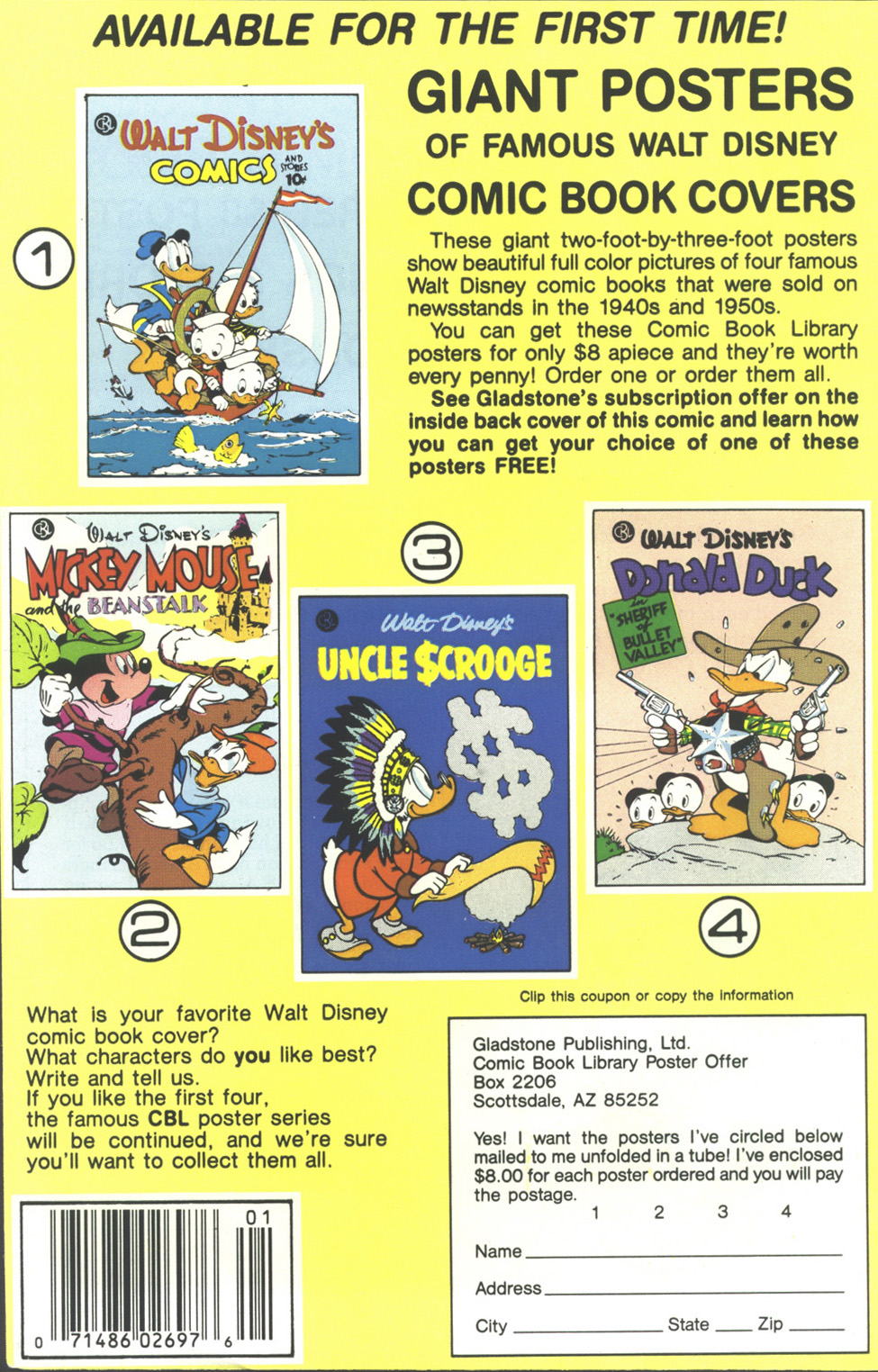 Walt Disney's Donald Duck (1986) issue 249 - Page 36