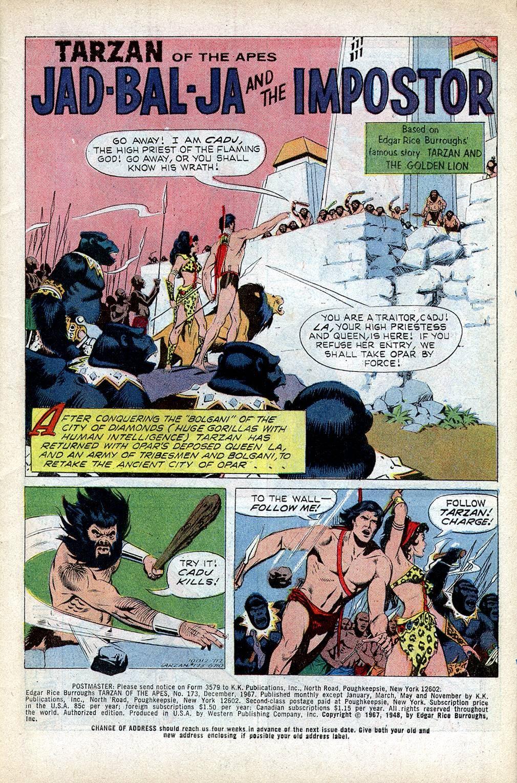 Tarzan (1962) issue 173 - Page 3