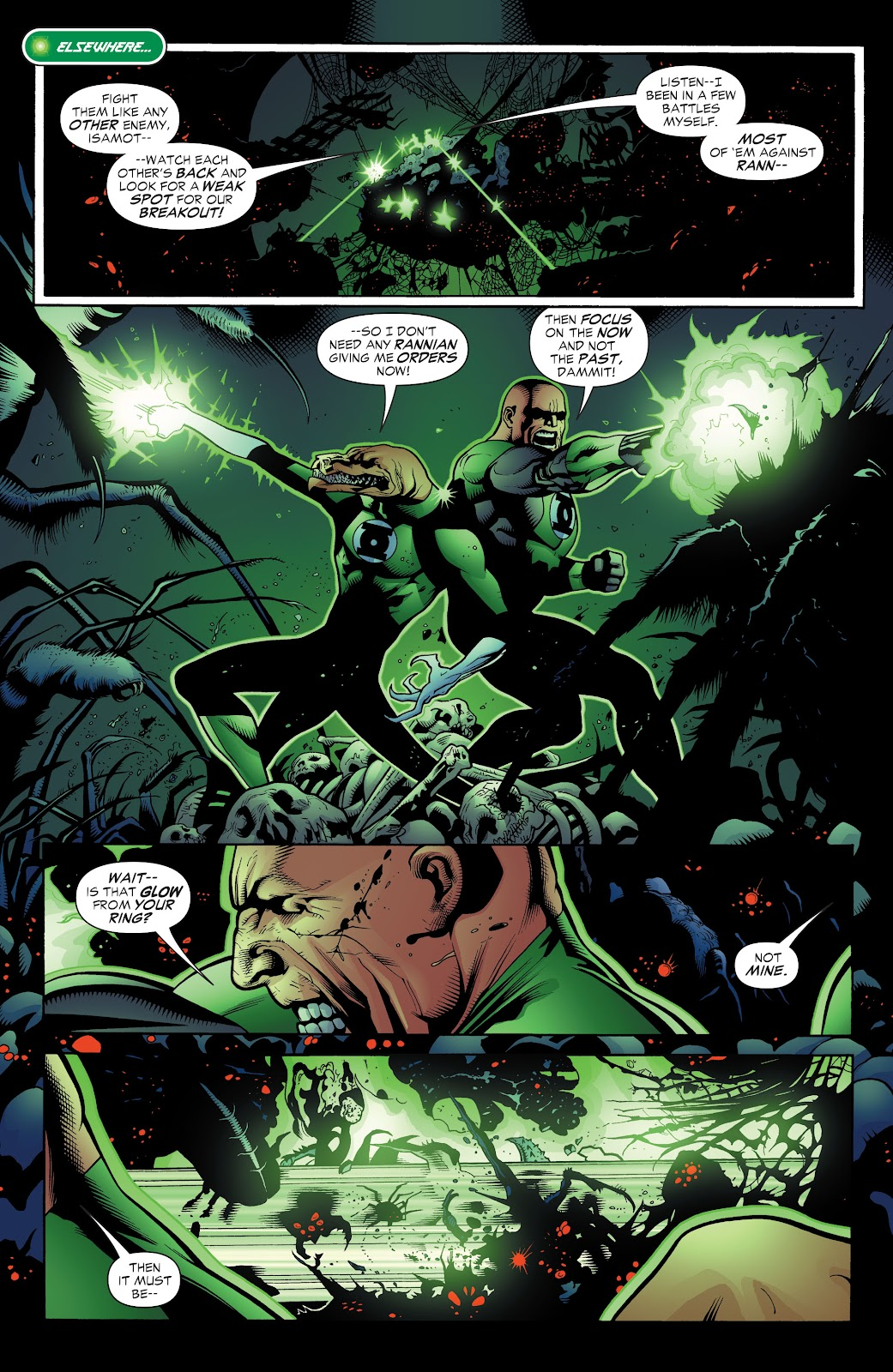 Read online Green Lantern by Geoff Johns comic -  Issue # TPB 1 (Part 3) - 33
