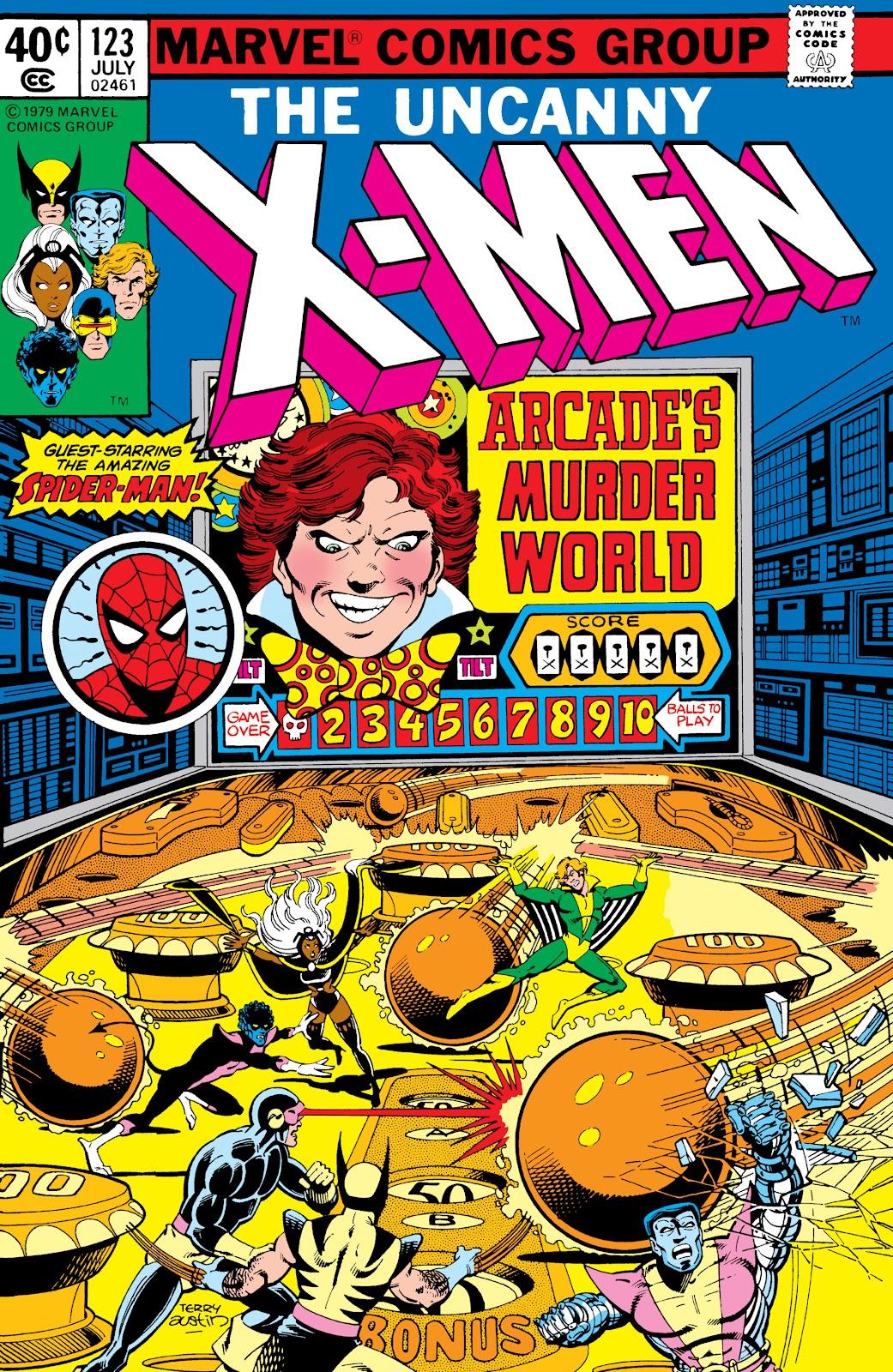 Uncanny X-Men (1963) issue 123 - Page 1