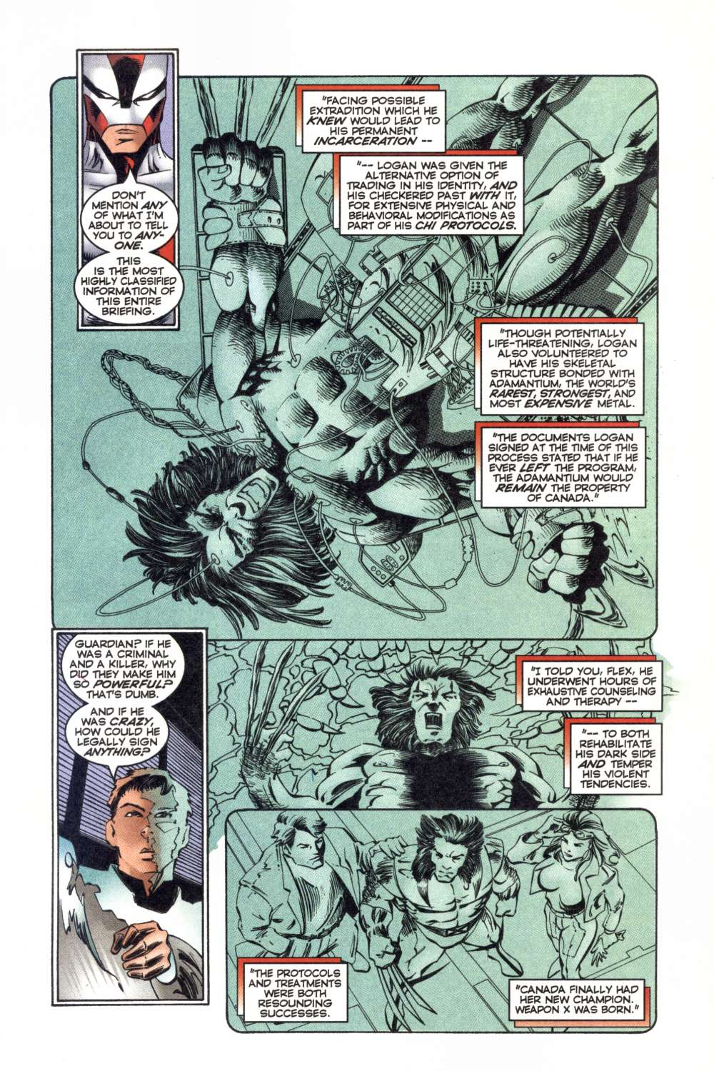 Read online Alpha Flight (1997) comic -  Issue #8 - 20