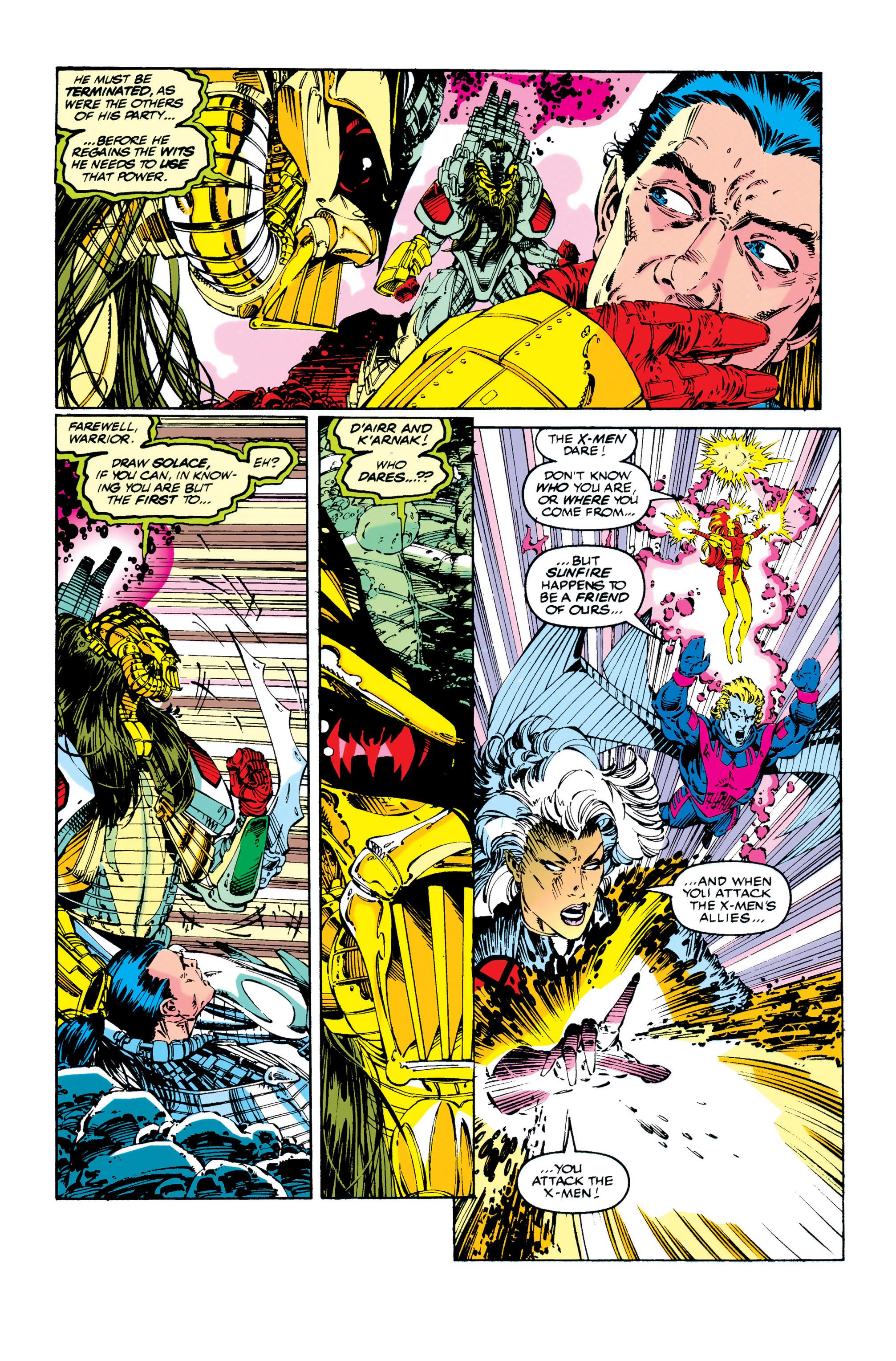 Read online Uncanny X-Men (1963) comic -  Issue #284 - 10