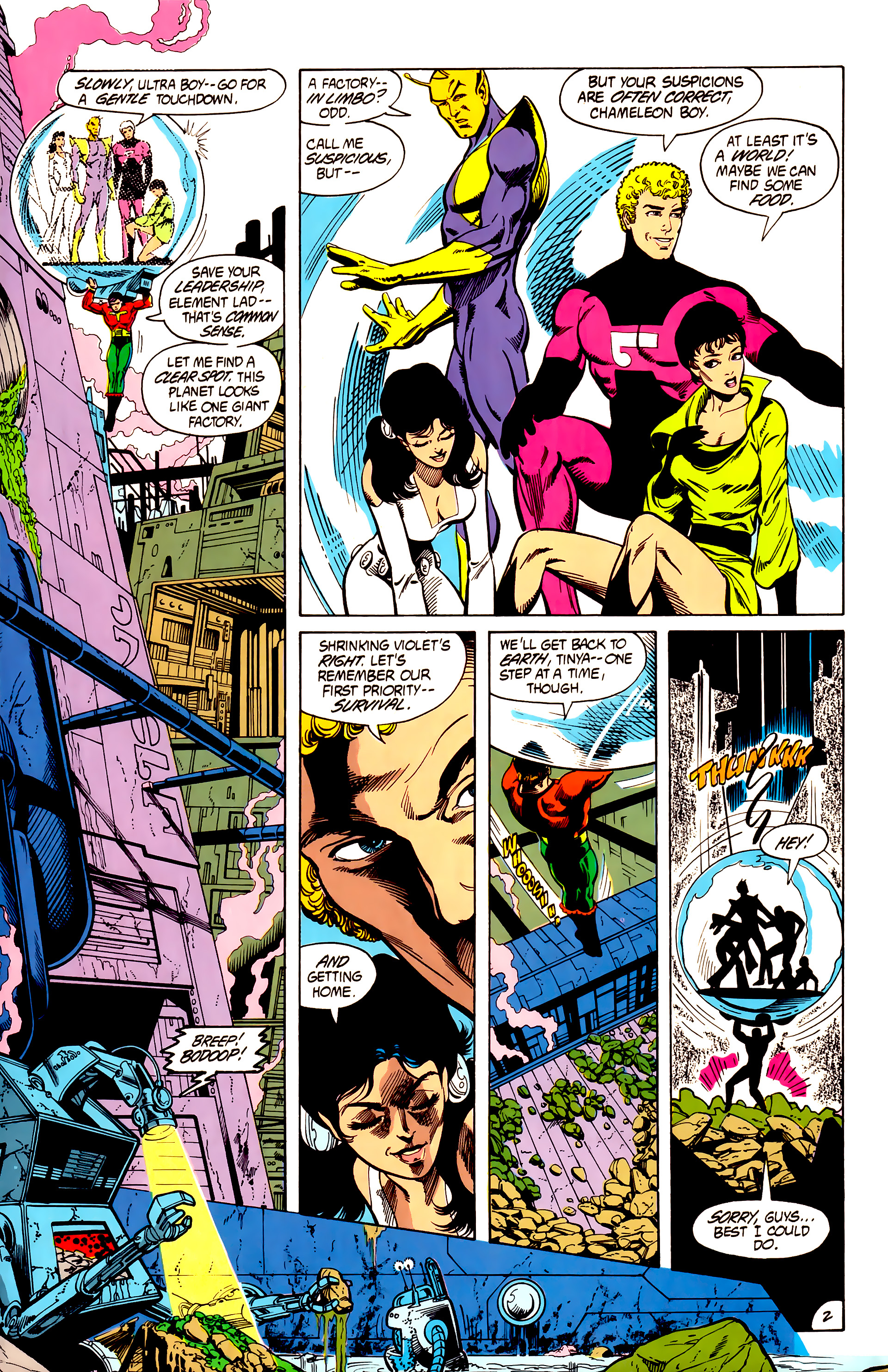 Legion of Super-Heroes (1984) 7 Page 3