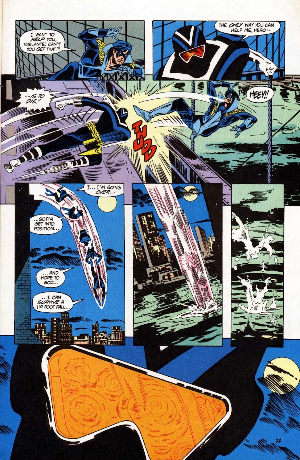 Vigilante (1983) issue 20 - Page 23