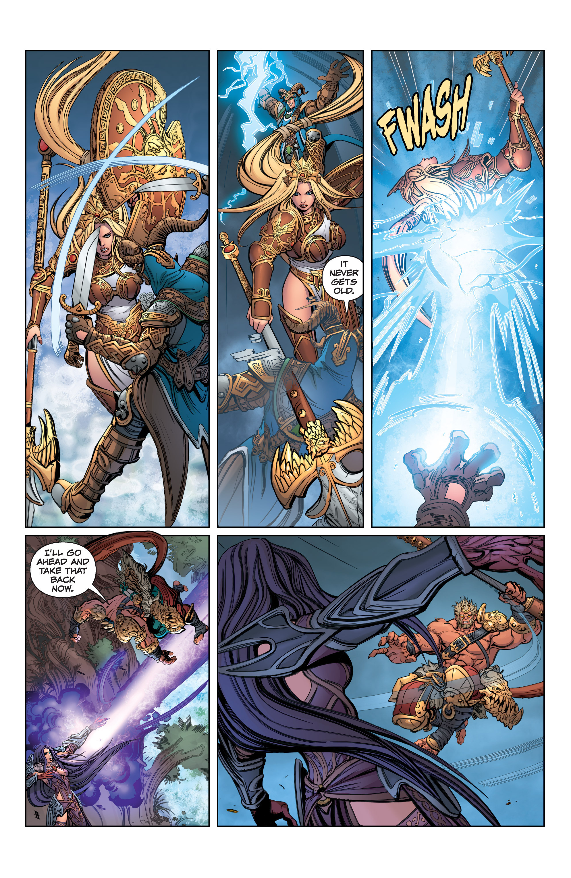 Read online SMITE: The Pantheon War comic -  Issue #3 - 14
