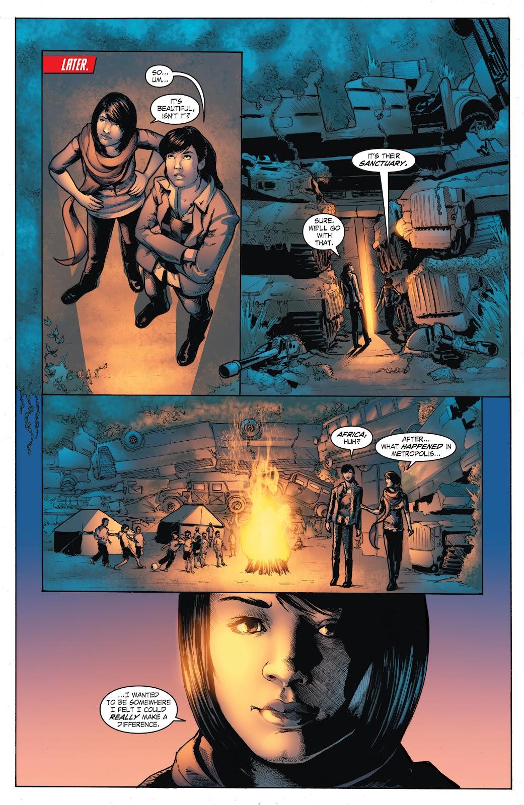 Read online Smallville Season 11 [II] comic -  Issue # TPB 4 - 117