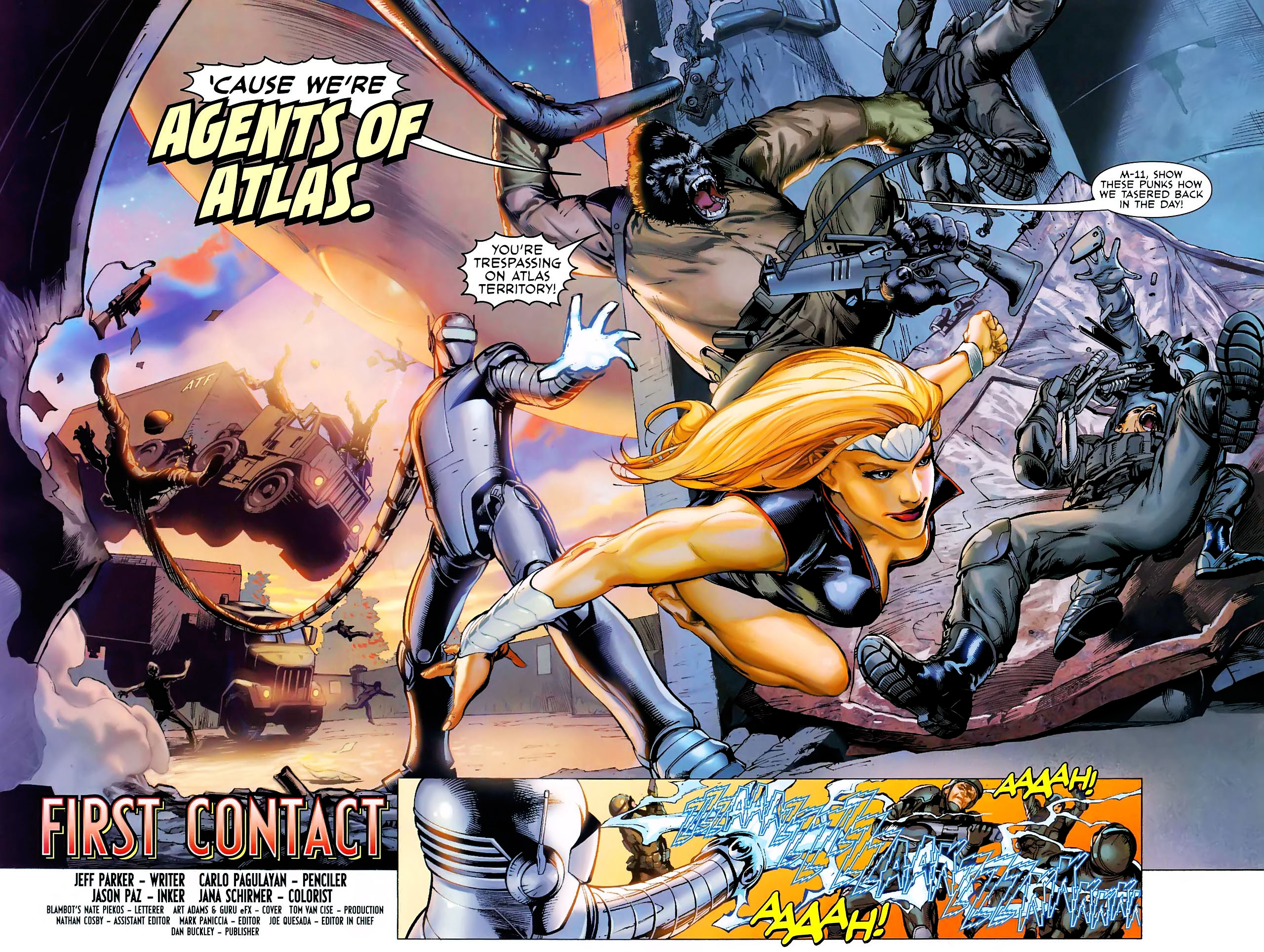 Read online Secret Invasion: War of Kings comic -  Issue # Full - 44