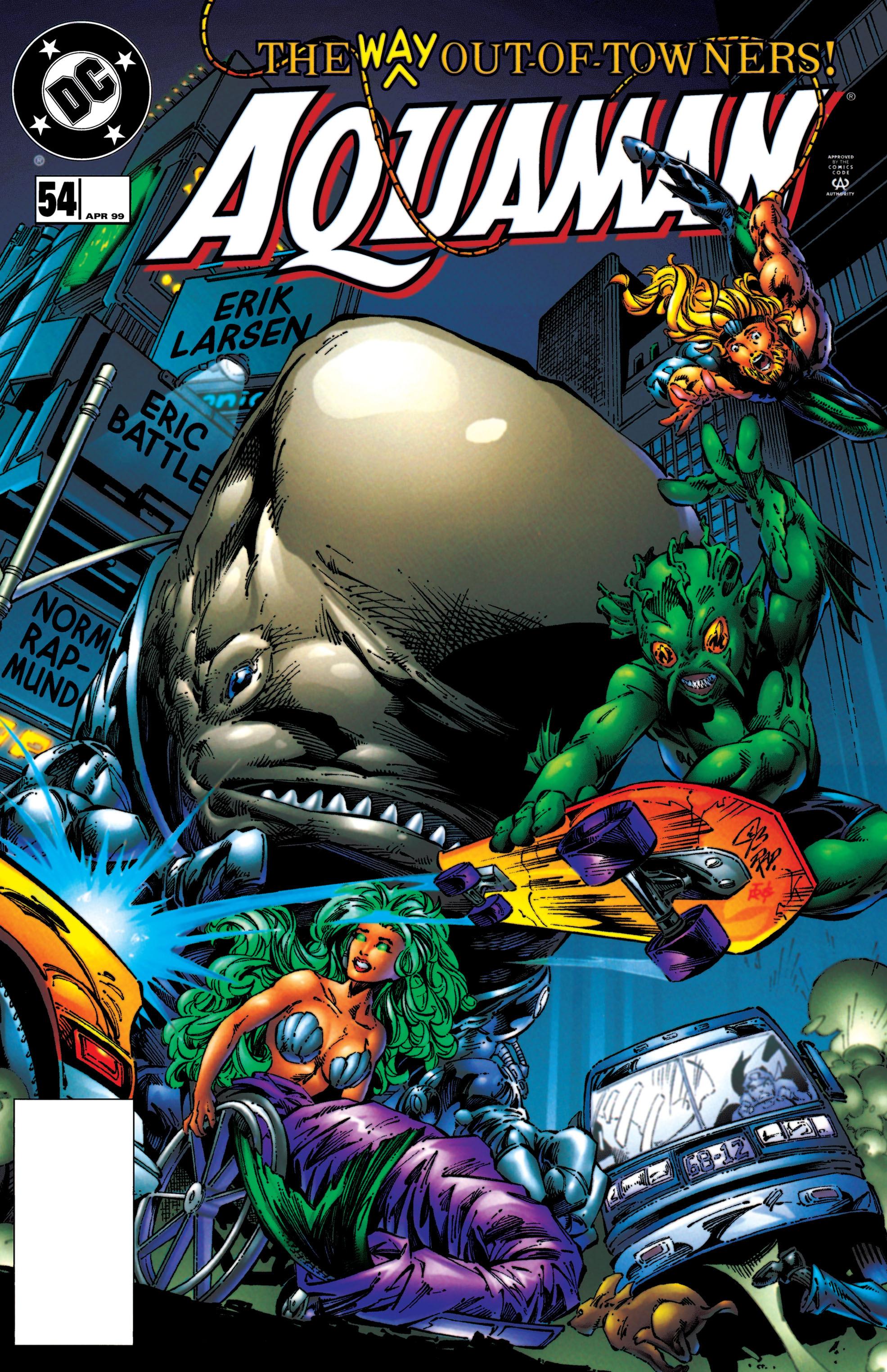 Aquaman (1994) 54 Page 1