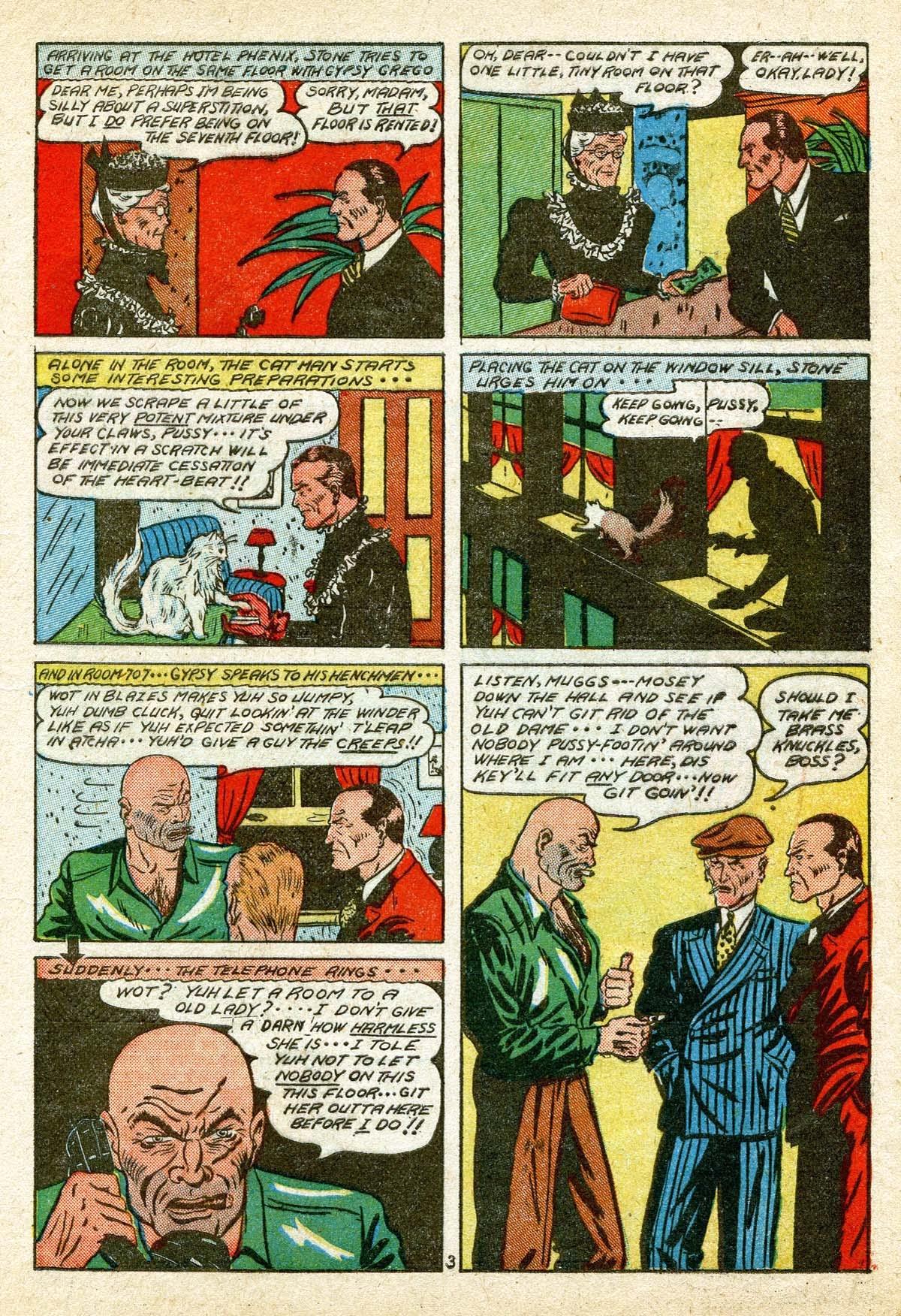 Read online Amazing Man Comics comic -  Issue #8 - 15