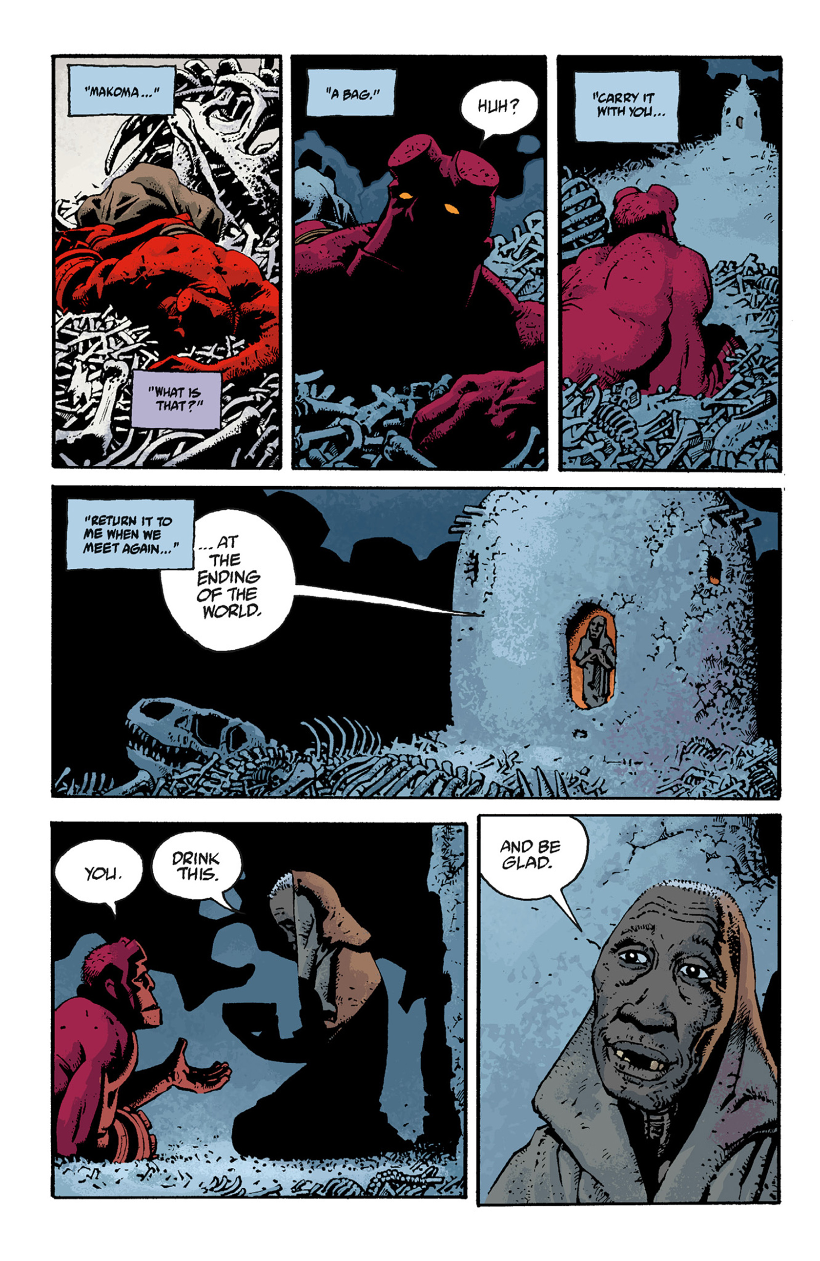Read online Hellboy: The Troll Witch and Others comic -  Issue # TPB - 116