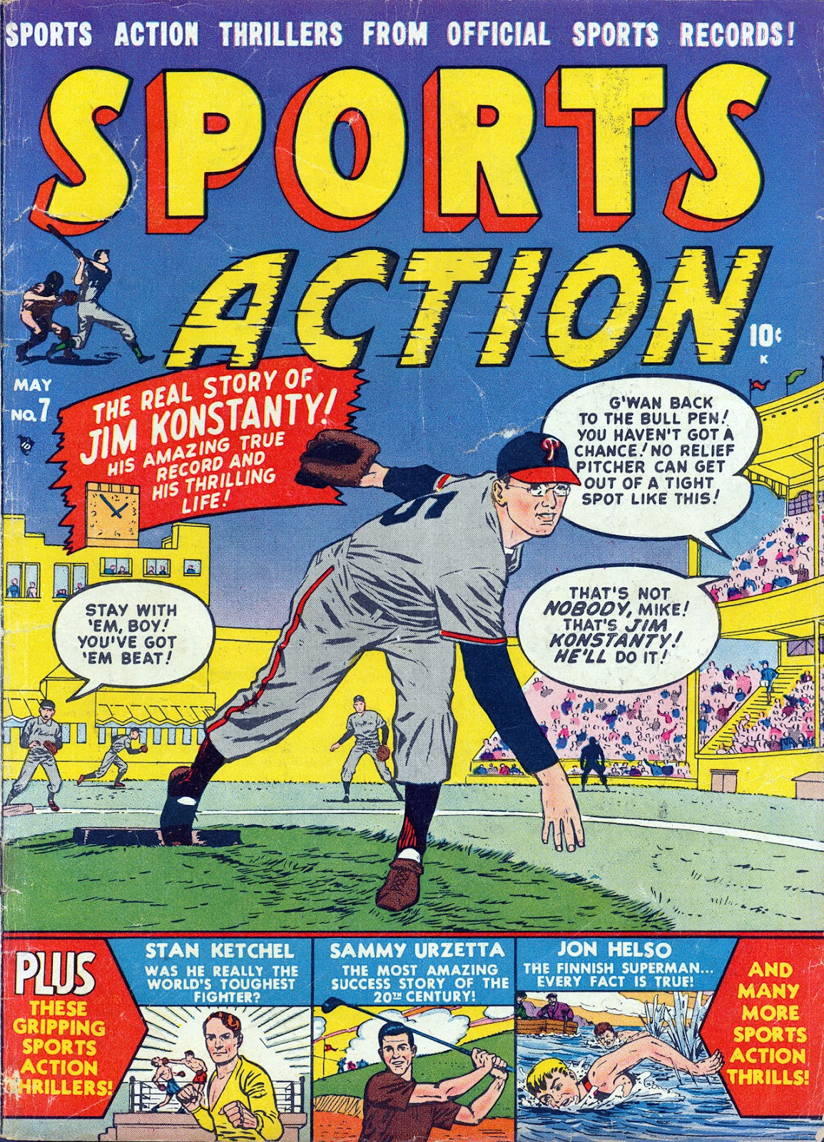Sports Action issue 7 - Page 1