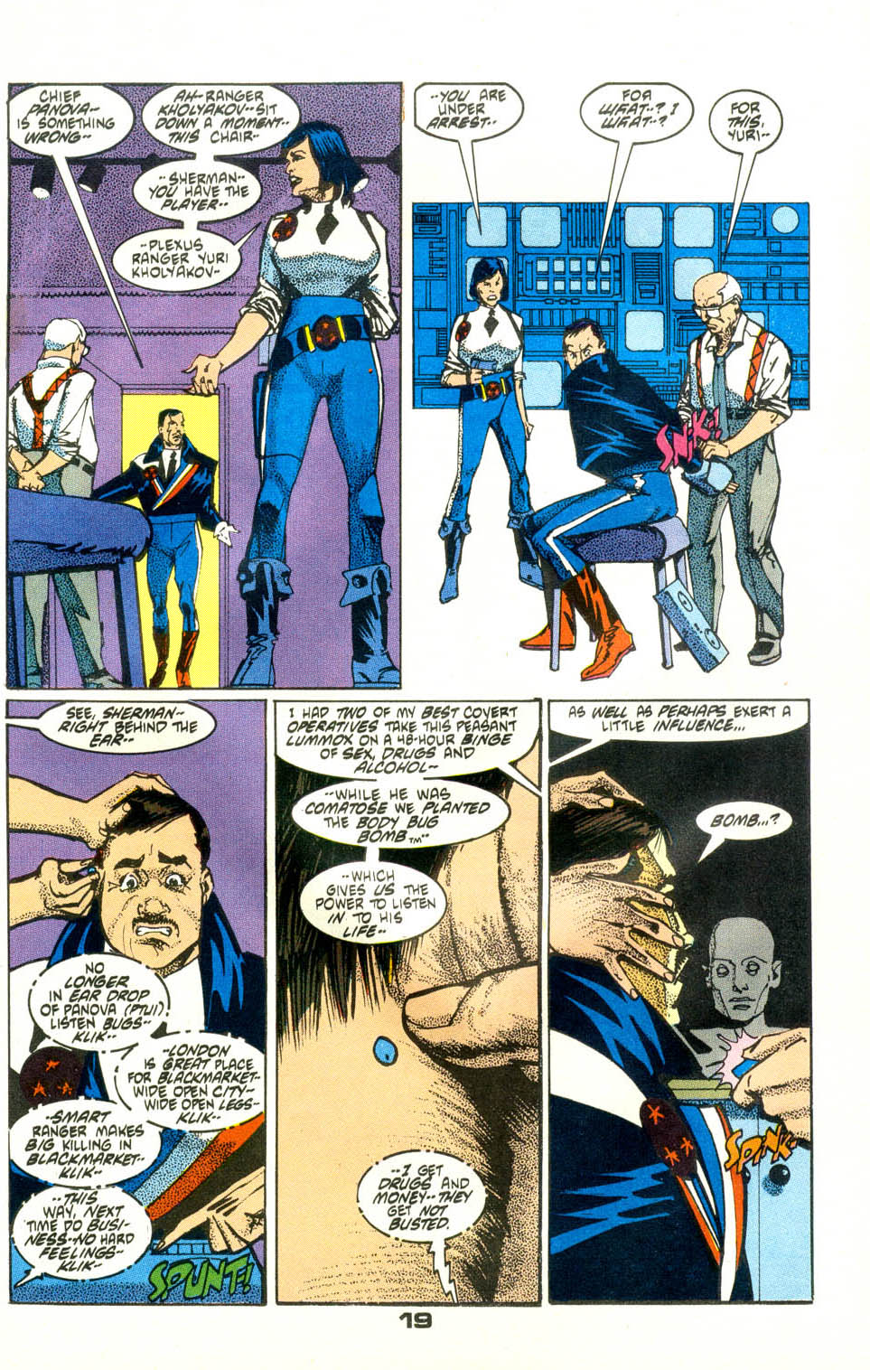 Read online American Flagg! comic -  Issue #24 - 21