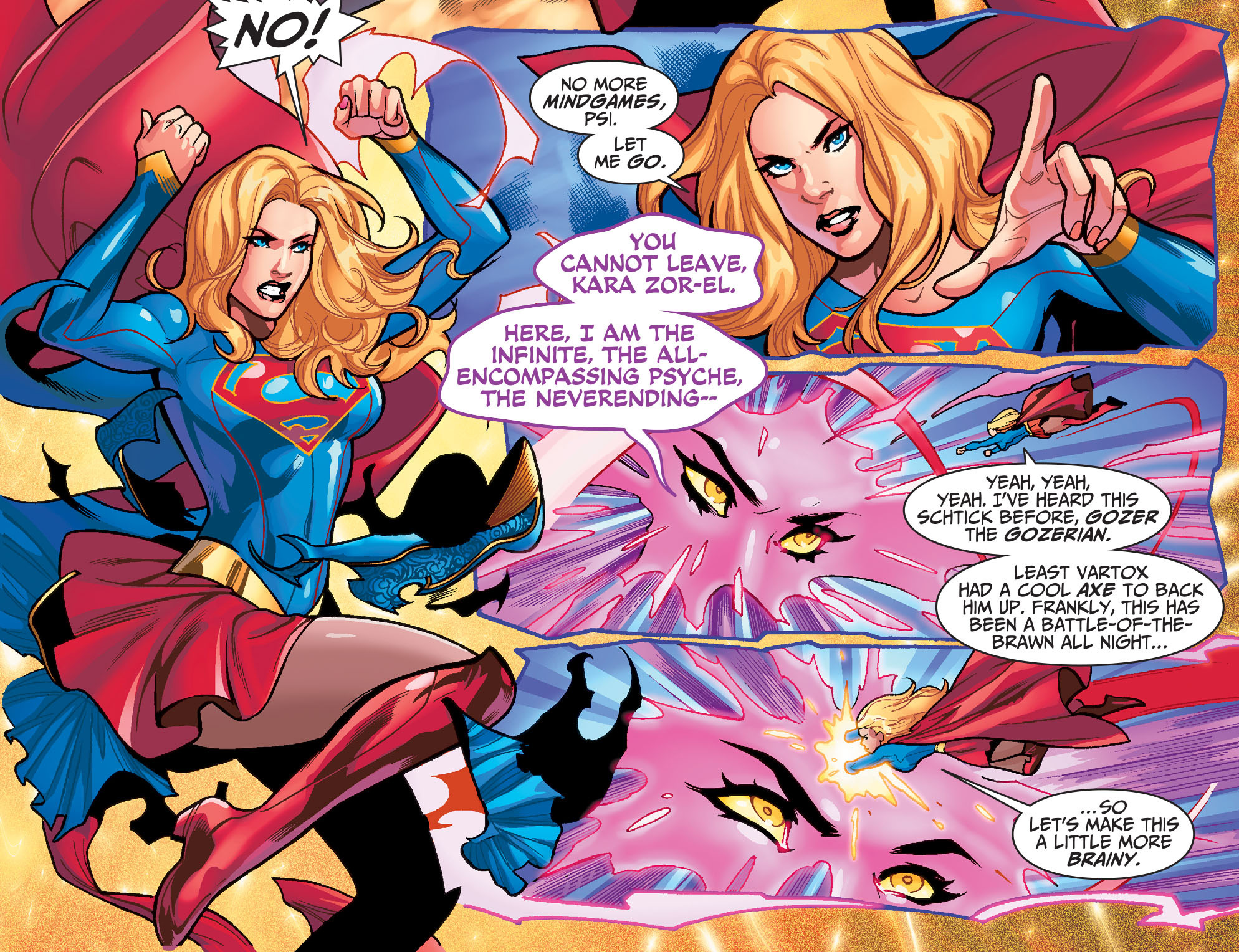 Read online Adventures of Supergirl comic -  Issue #7 - 16