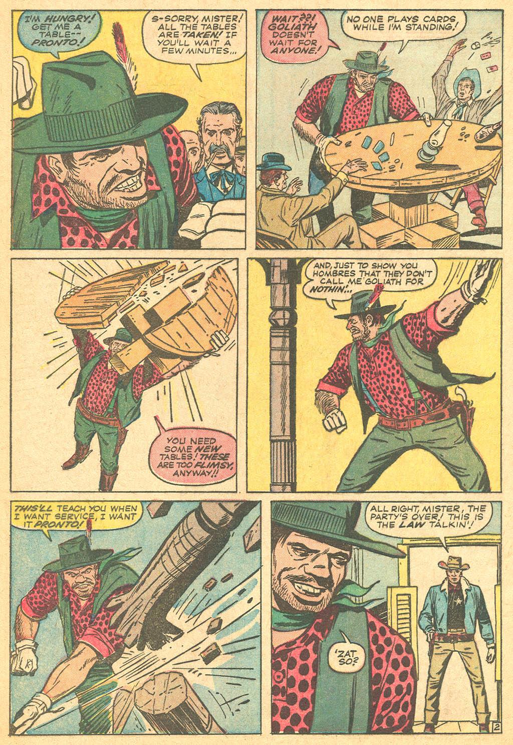 Read online Two-Gun Kid comic -  Issue #69 - 4