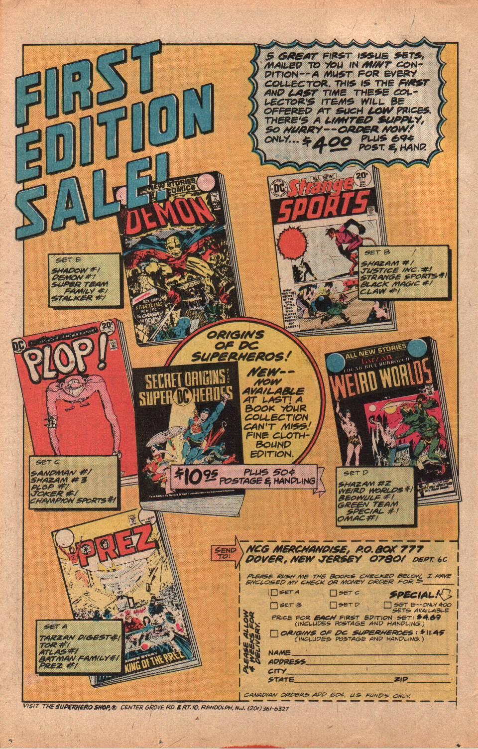 Read online Shazam! (1973) comic -  Issue #25 - 30
