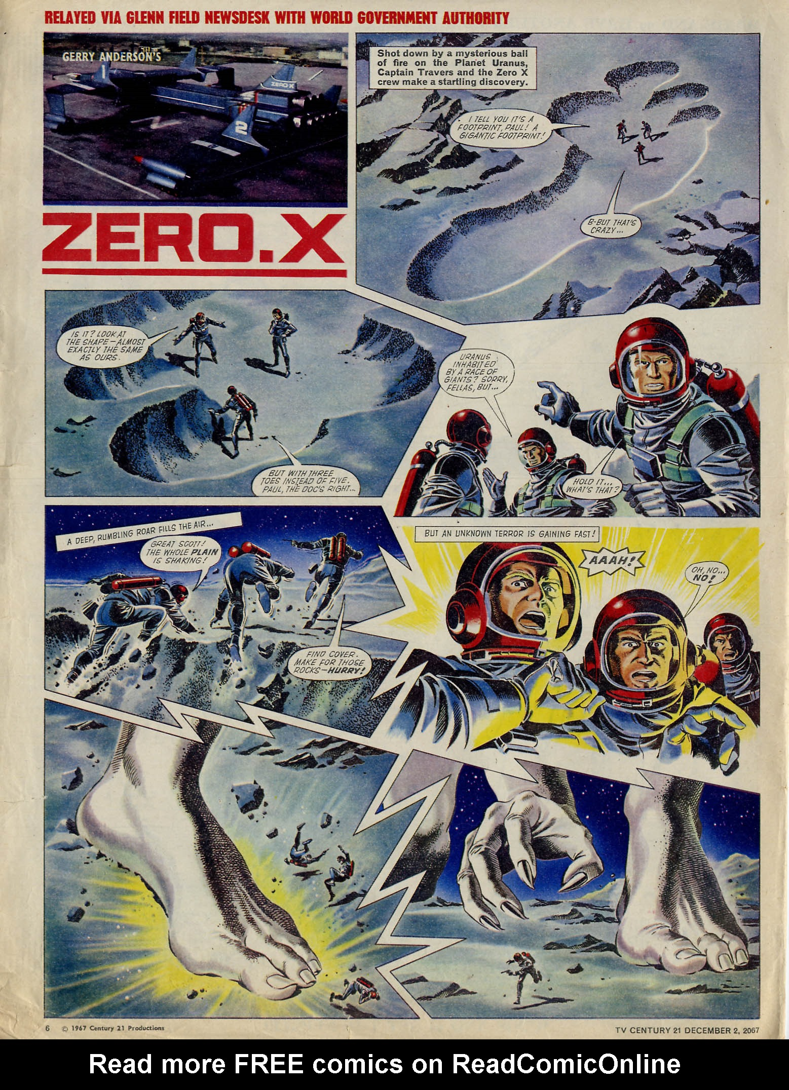 Read online TV Century 21 (TV 21) comic -  Issue #150 - 6